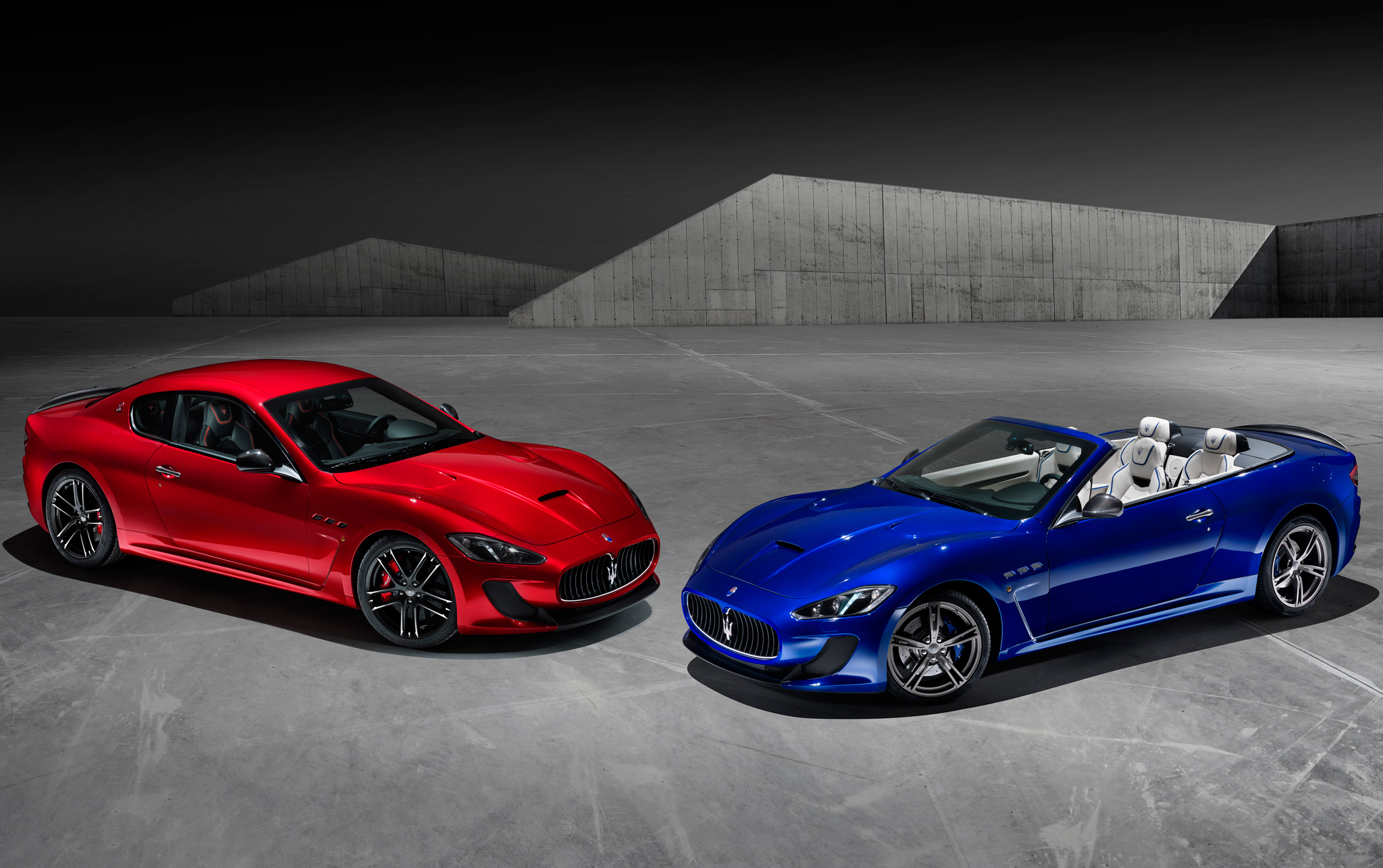 Surprise! Maserati GranTurismo MC Centennial Editions Debut in NY