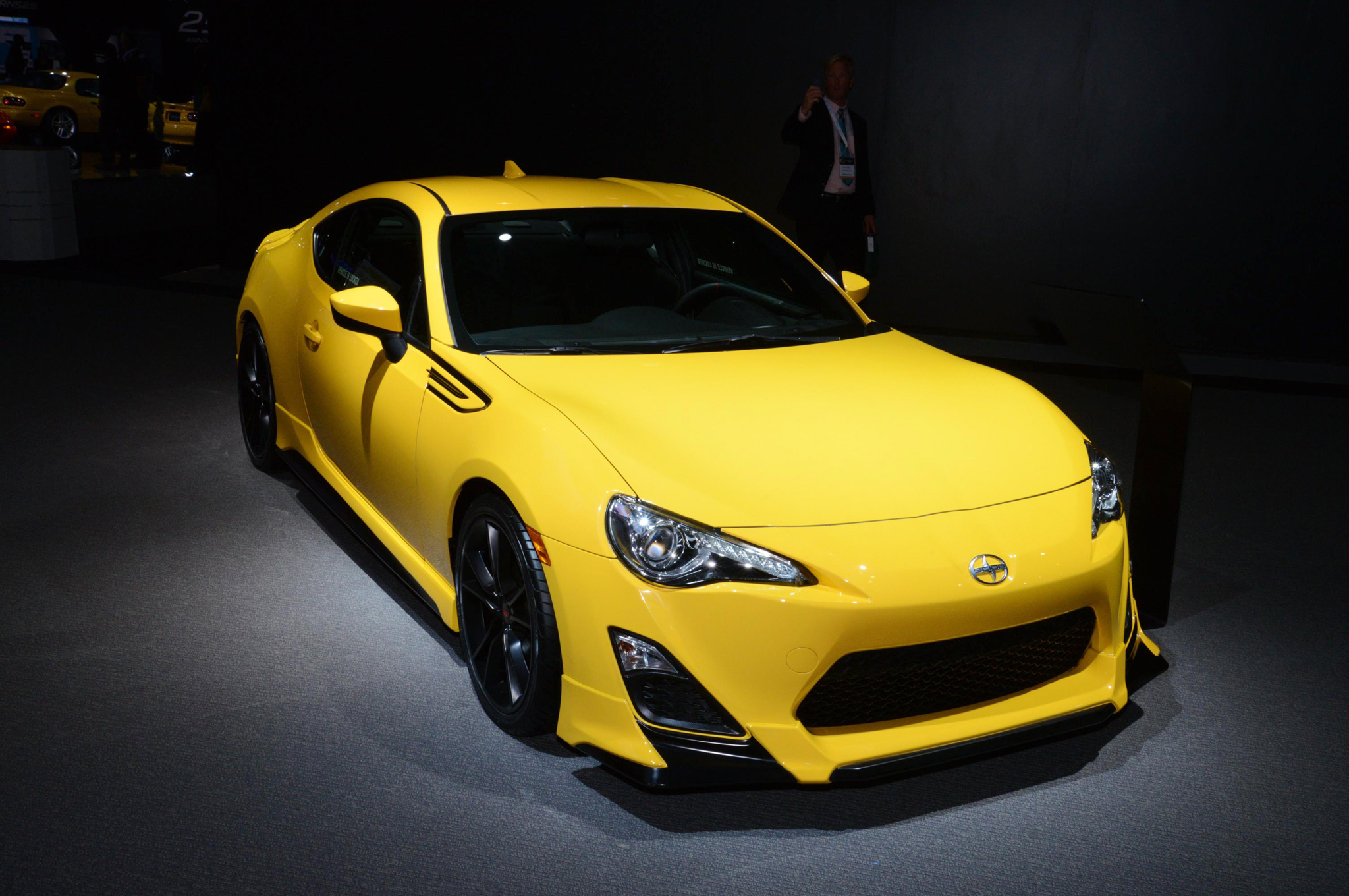 2014 Scion FR S Release Series 1 0 is Bright and Lowered for NY