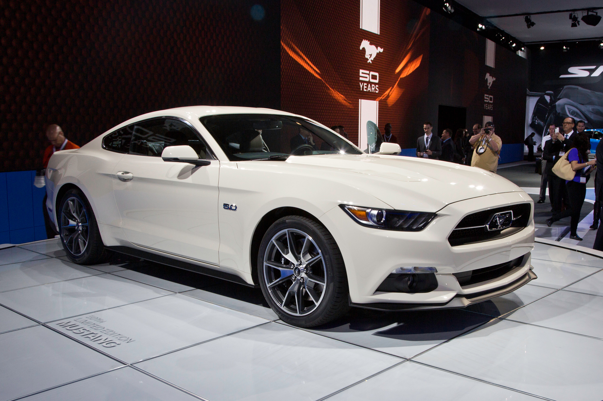 Louvers and Chrome for 2015 Ford Mustang 50th Anniversary Edition