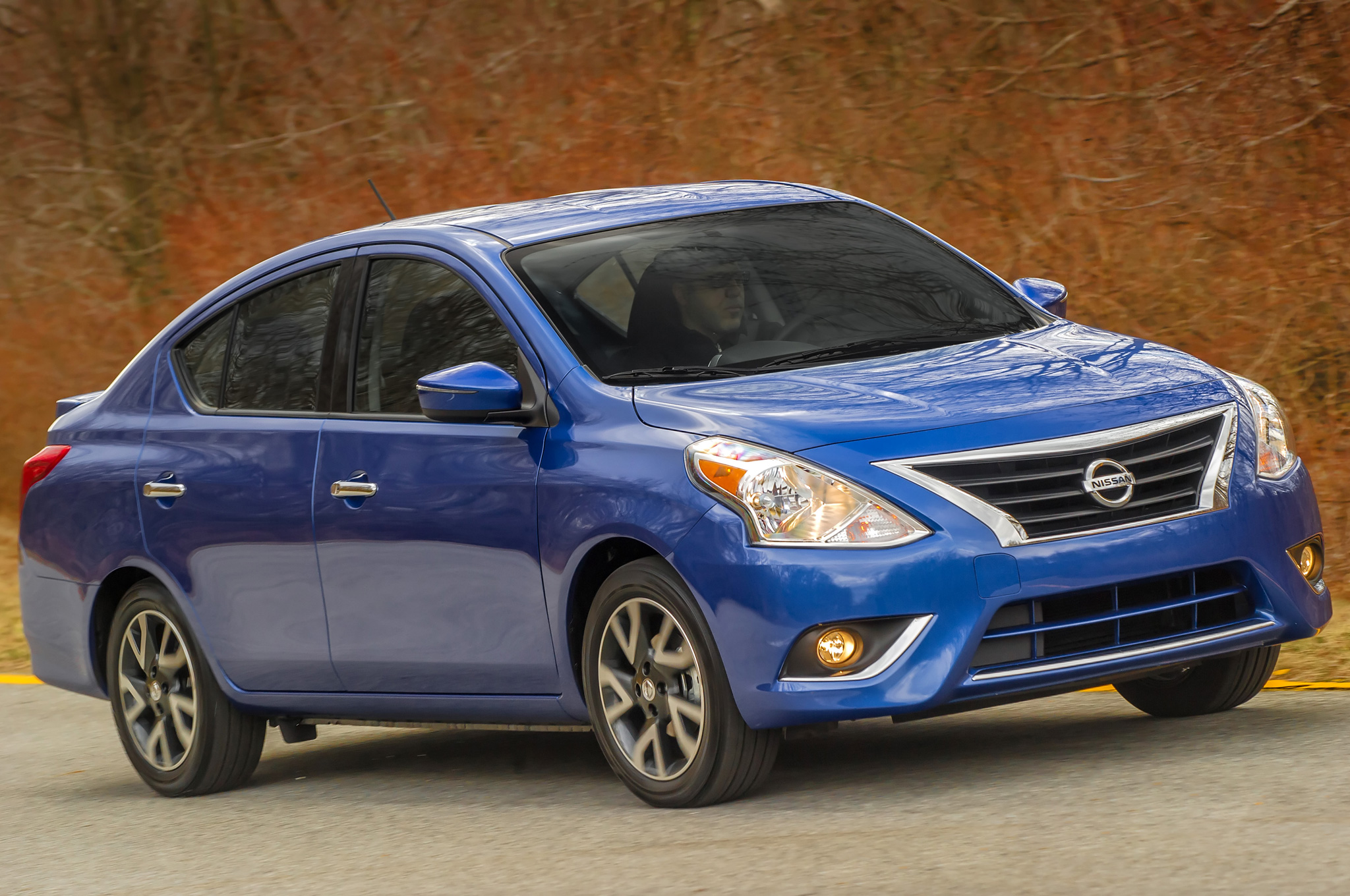 2015 Nissan Versa Sedan Freshens Up for NY, Starts at $12,800