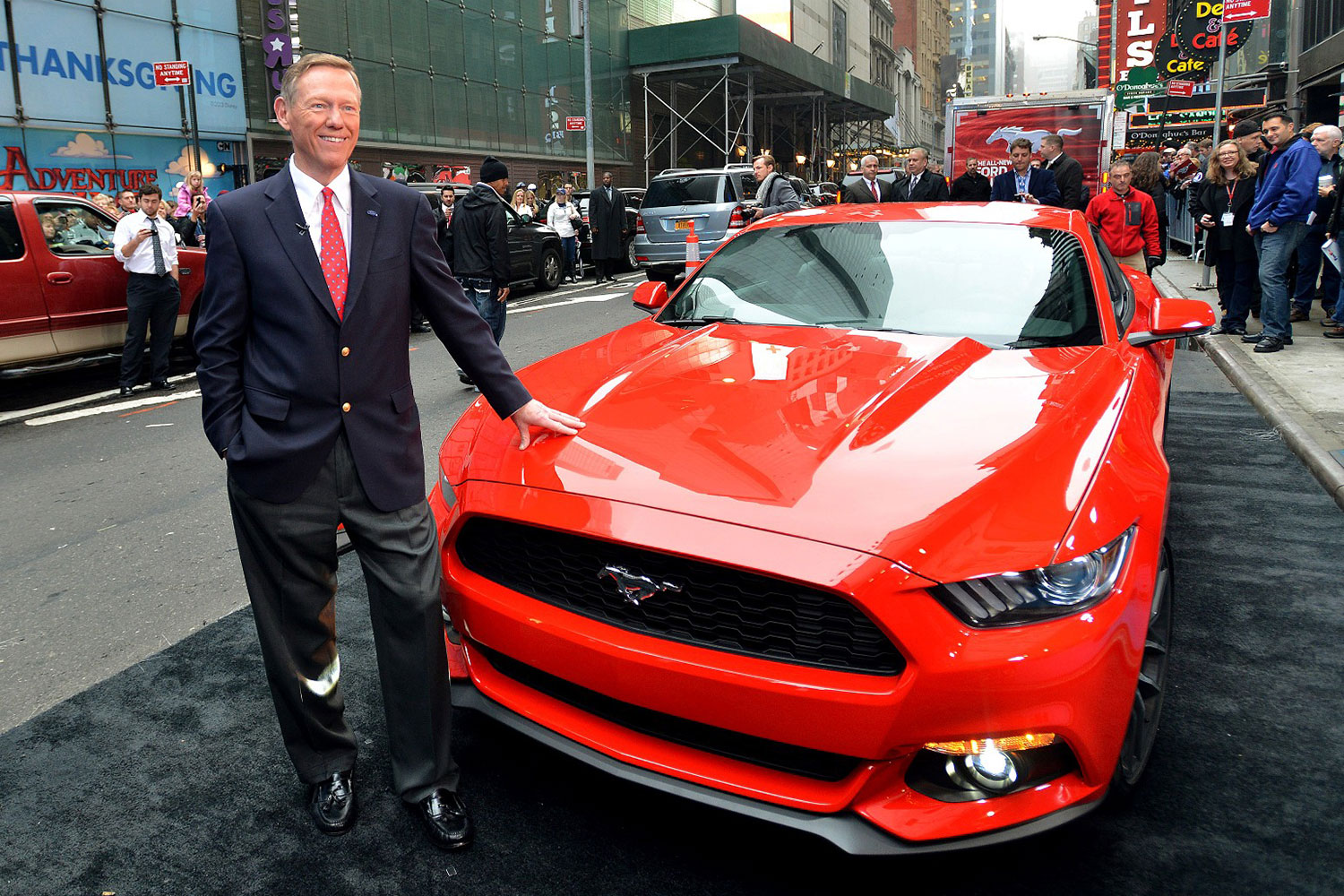We Hear: Ford CEO Alan Mulally Stepping Down This Year