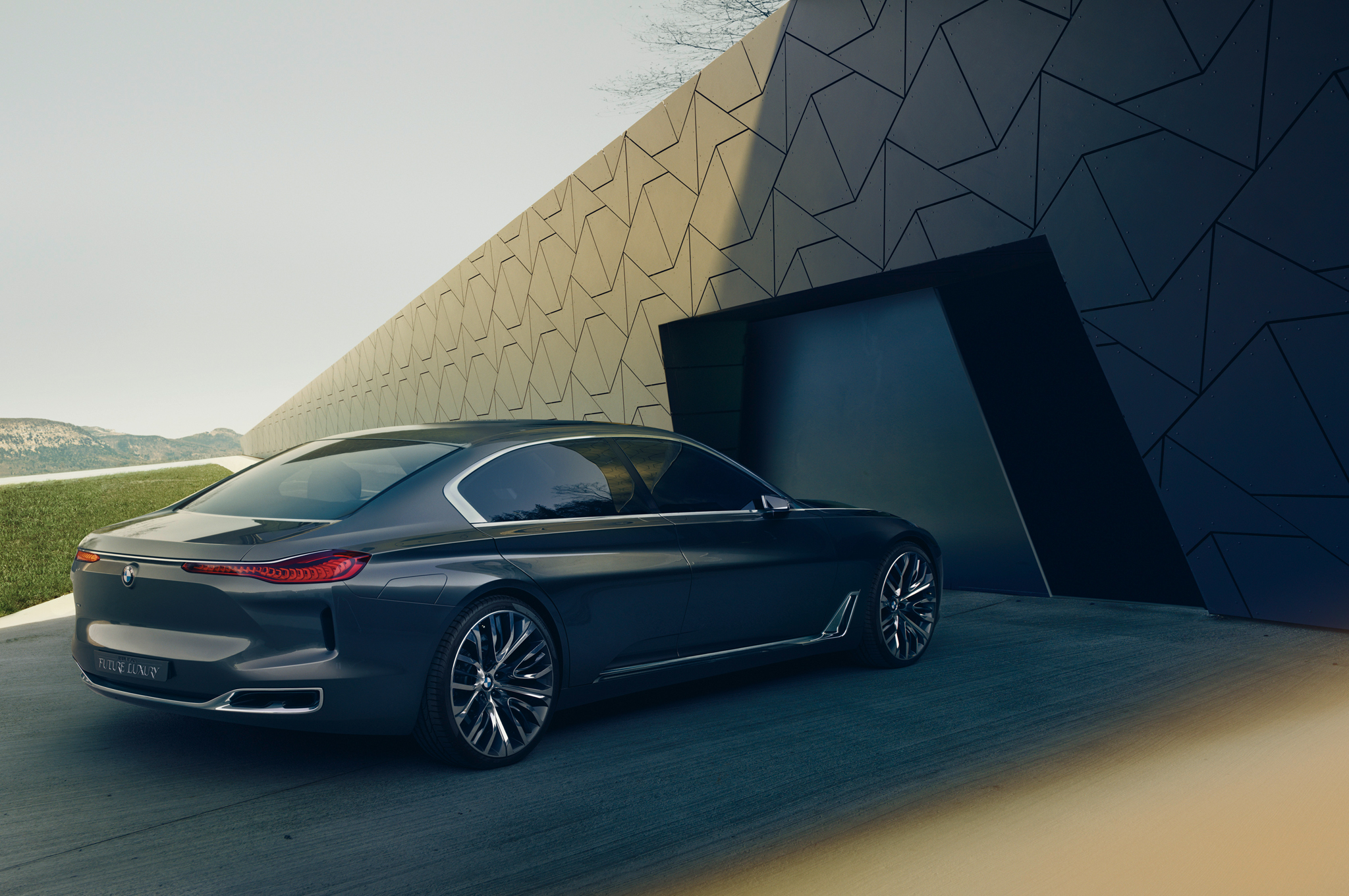 BMW Vision Future Luxury Concept Could Hint at New Flagship