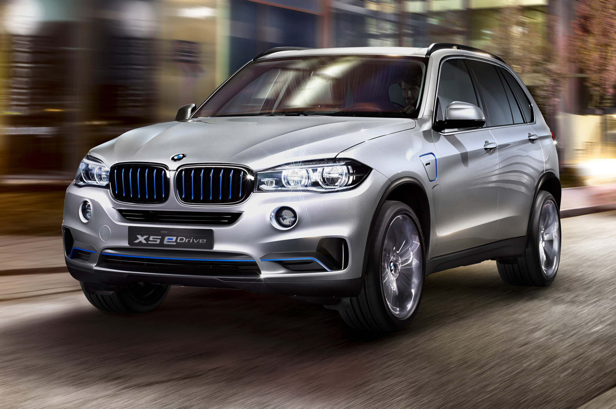 340-HP BMW Concept X5 eDrive Plug-in Hybrid Coming to New York