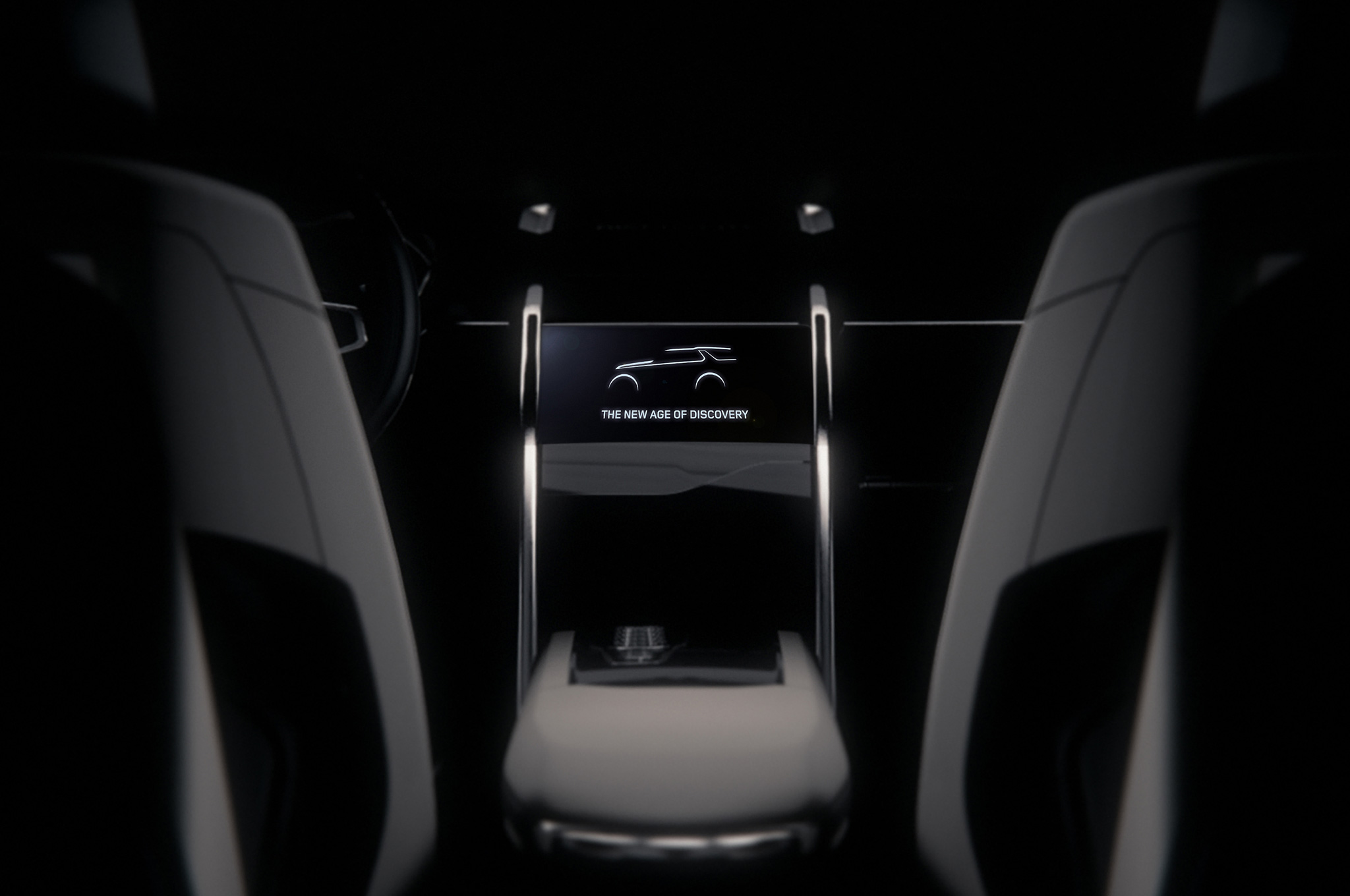 Land Rover Discovery Vision Concept Teased Before New York