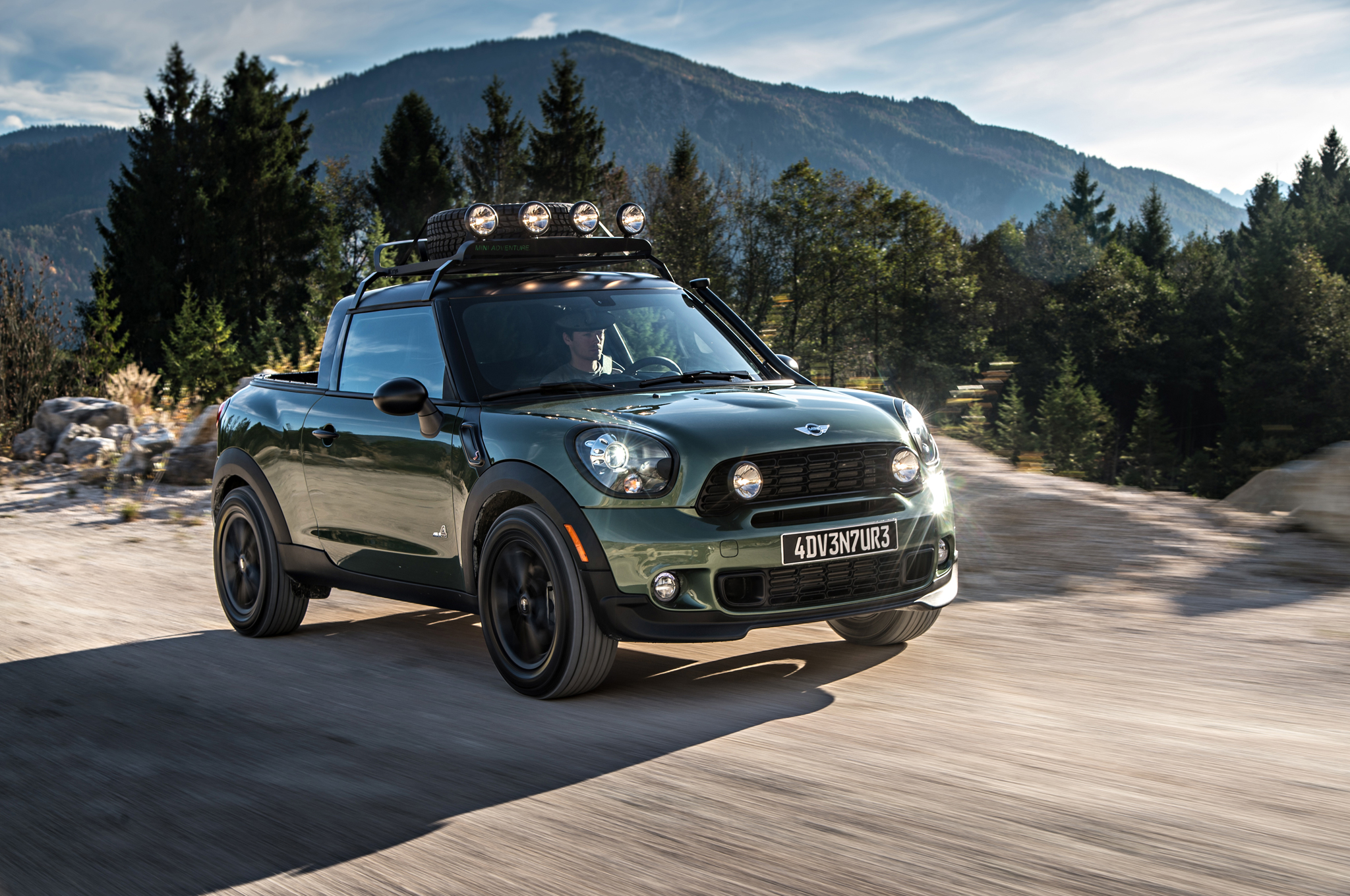 Mini Paceman Adventure is a One-Off Mini Pickup Truck