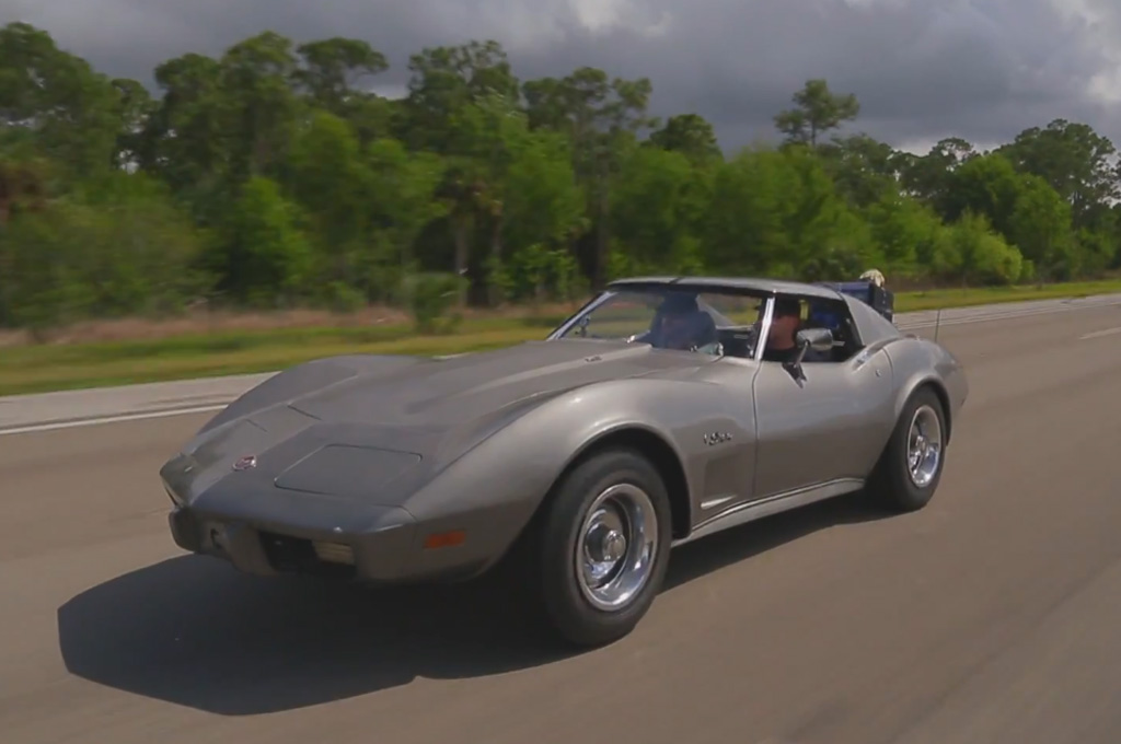 Roadkill Visits Corvette Museum Sinkhole in 1975 Stingray (W/Video)