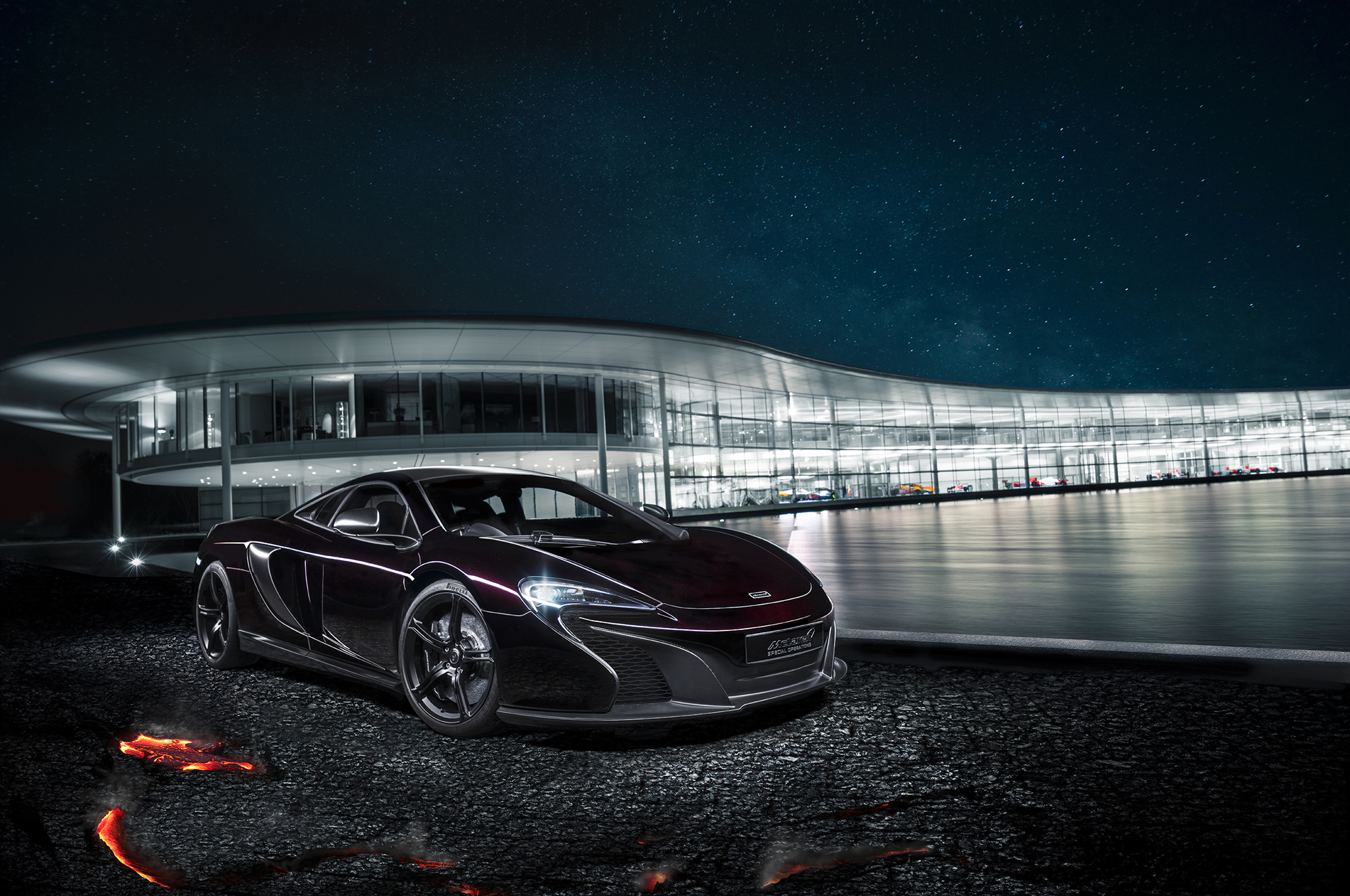 McLaren Special Operations 650S Coupe Concept Gets a Stealthy Look