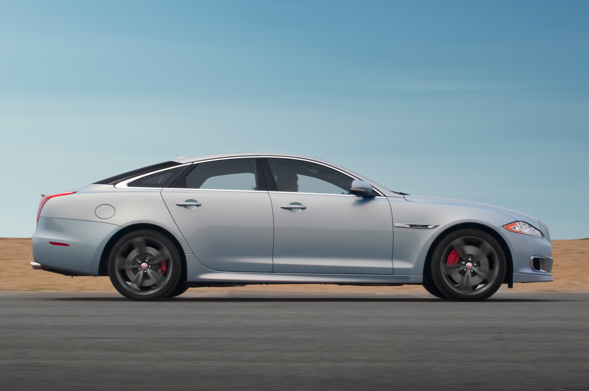 2014 Jaguar XJR First Test