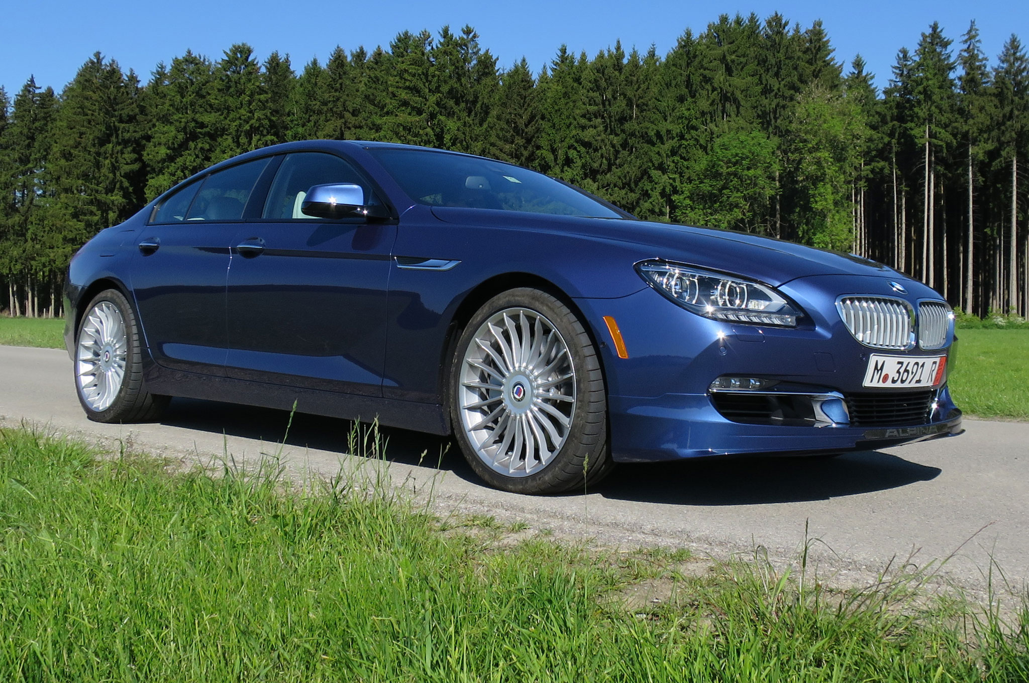BMW Alpina B XDrive Gran Coupe First Test Motor Trend - Alpina bmw b6