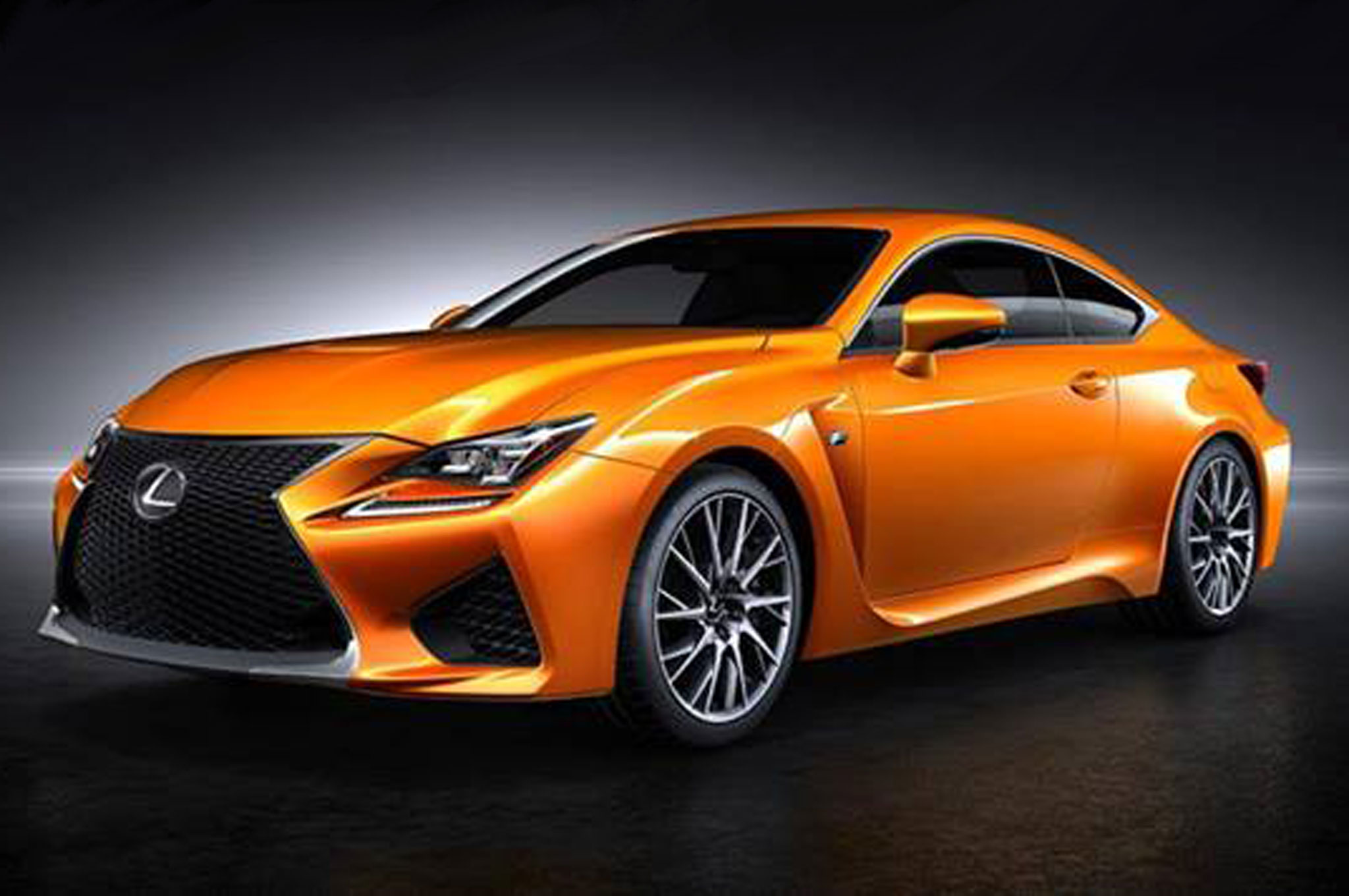 2015 Lexus RC F Gets New Paint Color - What Would you Name It?