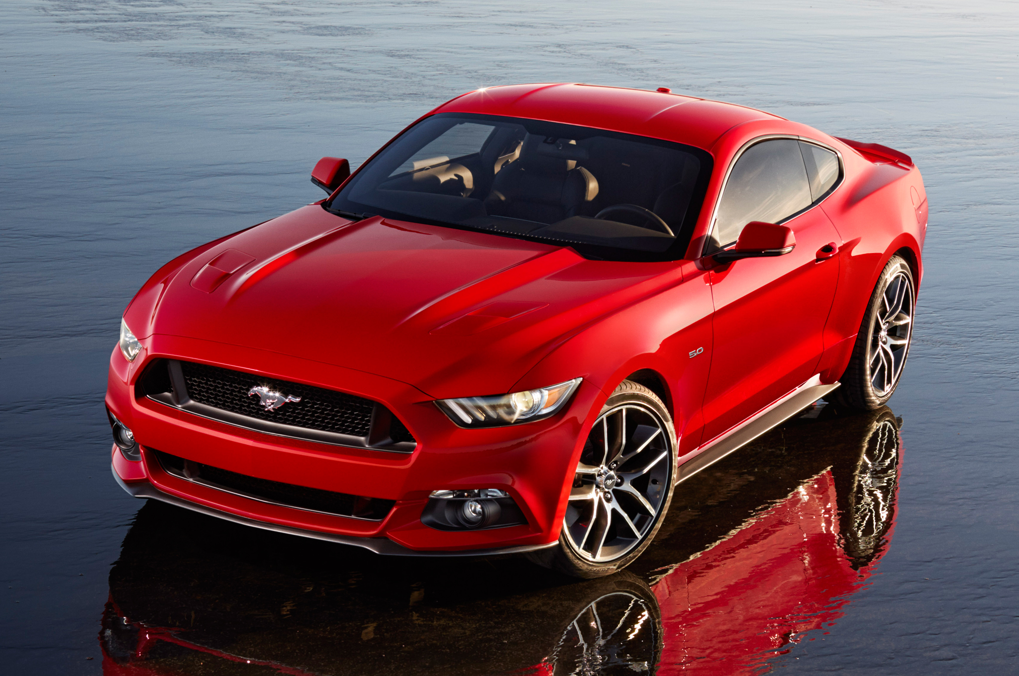 First 500 Euro 2015 Ford Mustangs Reserved in 30 Seconds