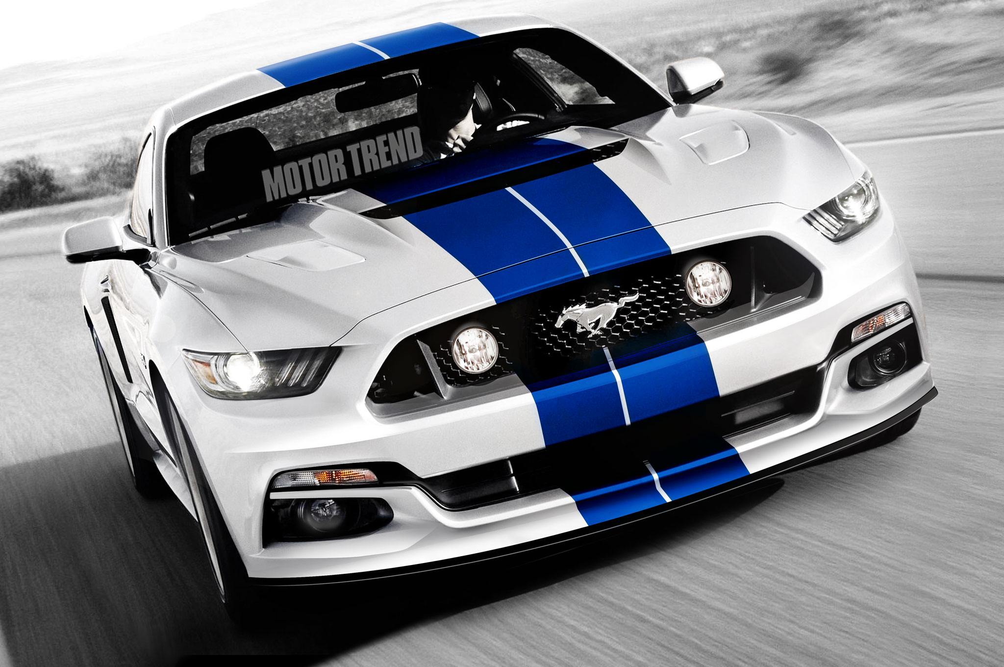 Could the 2016 ford mustang gt350 look like this