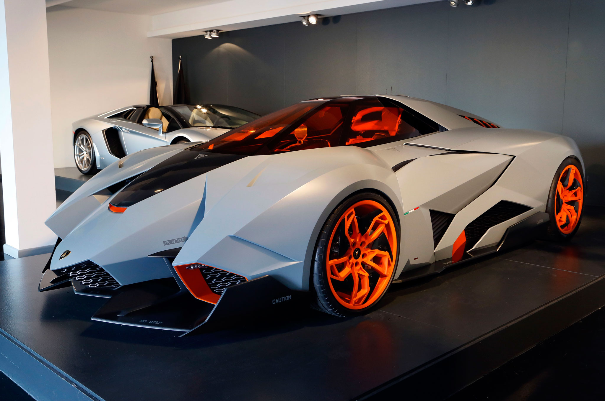 Lamborghini Egoista Finds Its Home At The Museum Motortrend