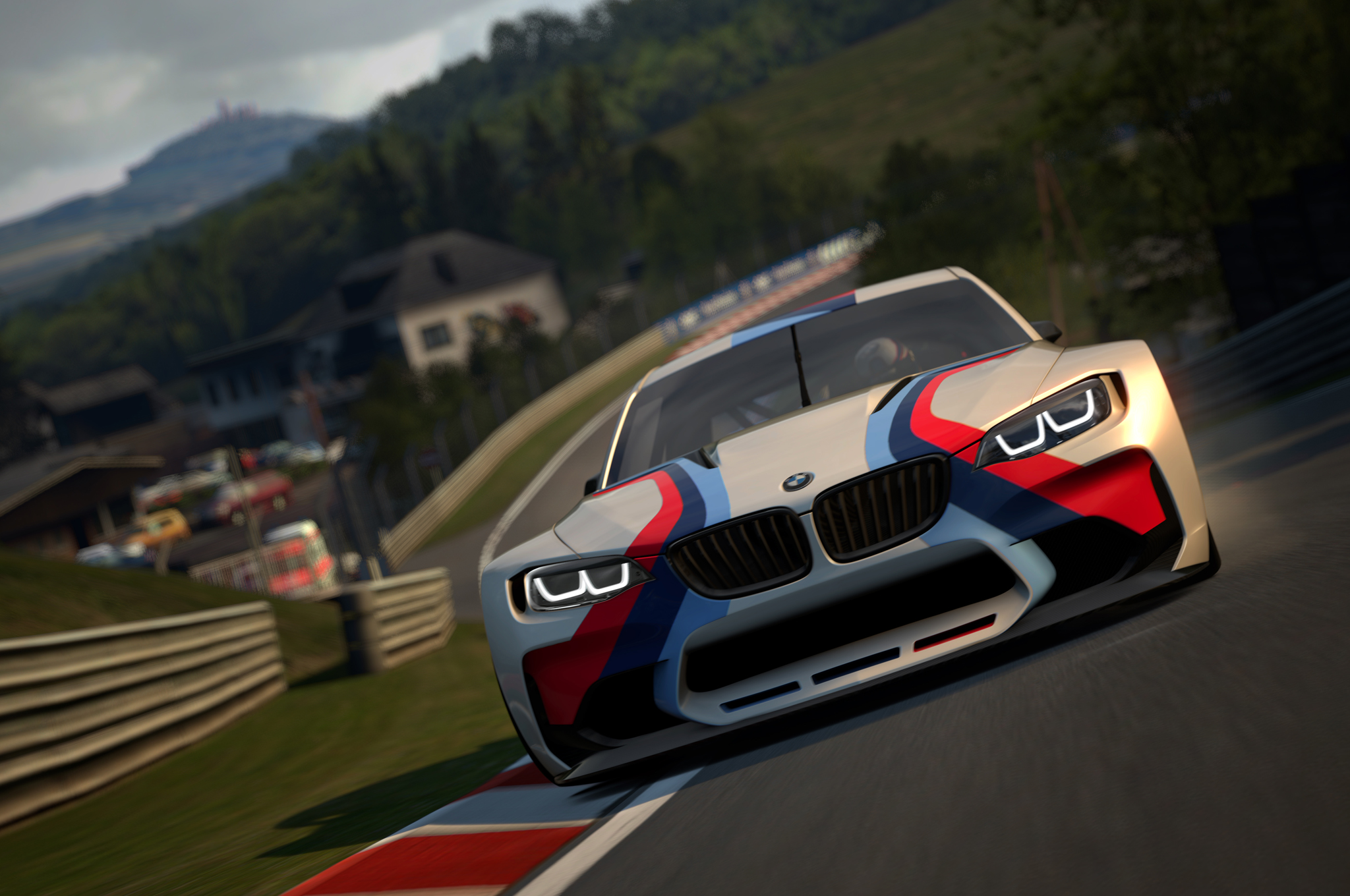 BMW Develops 549 HP Vision GT Race Car For Gran Turismo 6