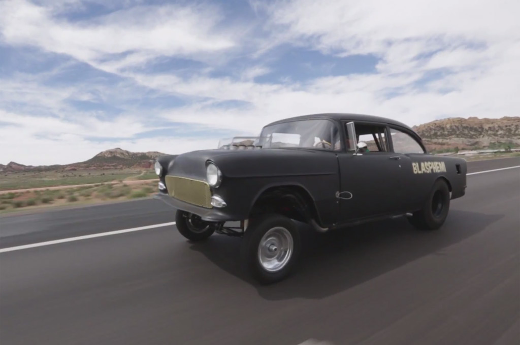 Hemi Powered 1955 Chevy Bel Air Build Chronicled On Roadkill