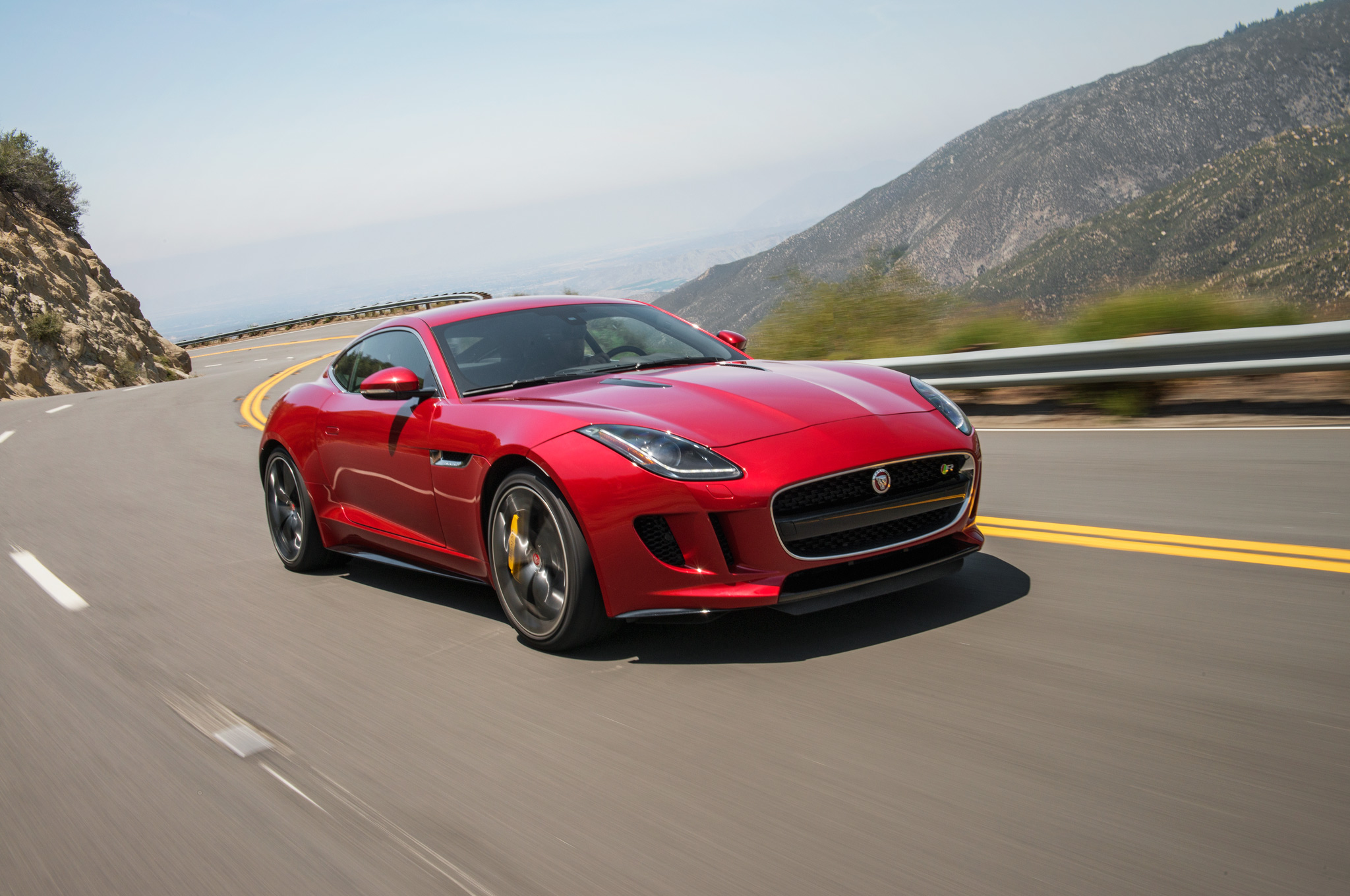 2015 jaguar f type r coupe first test motor trend