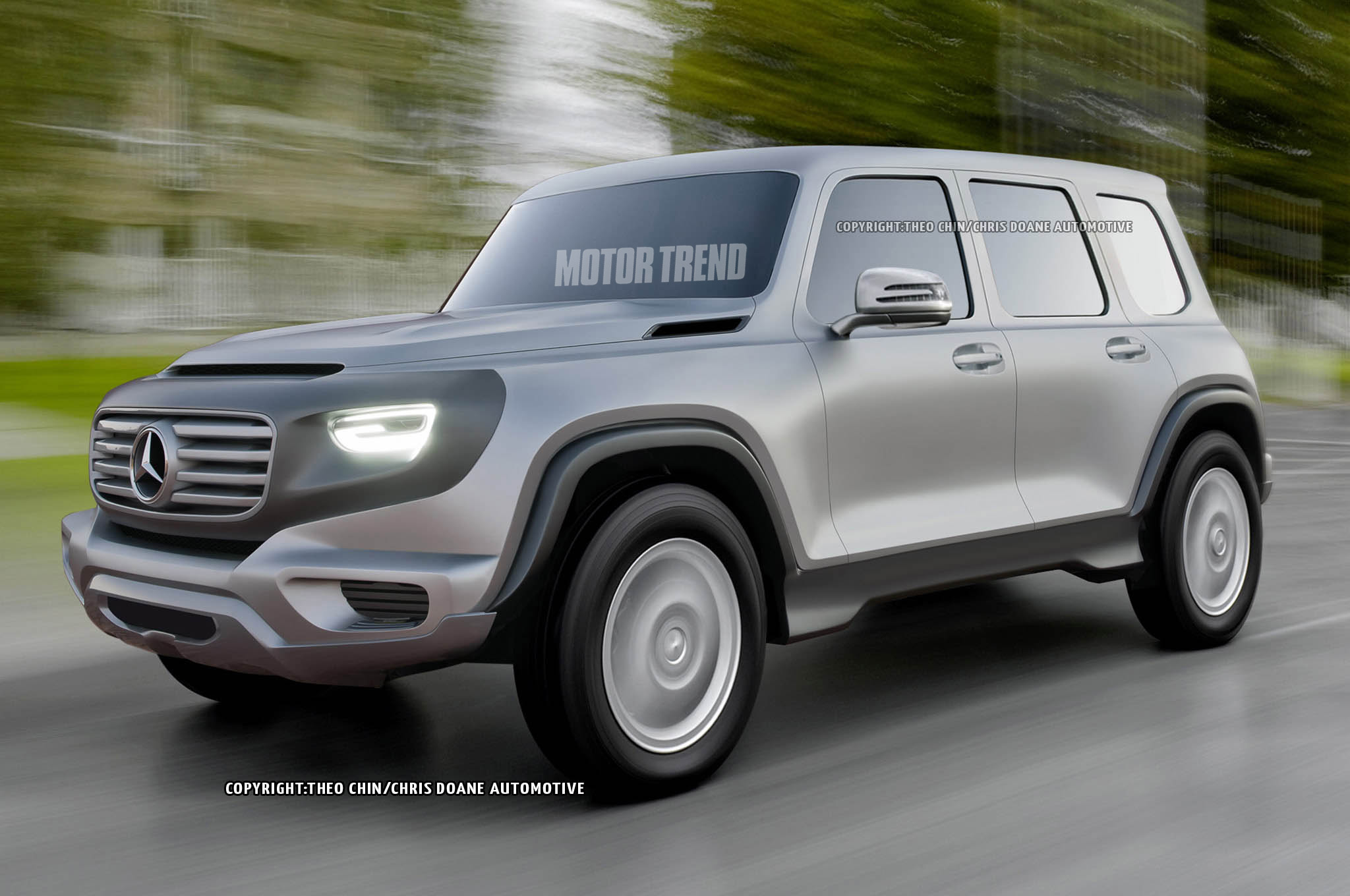 2017 Mercedes G Class Could Look Like Ener G Force Concept Motortrend