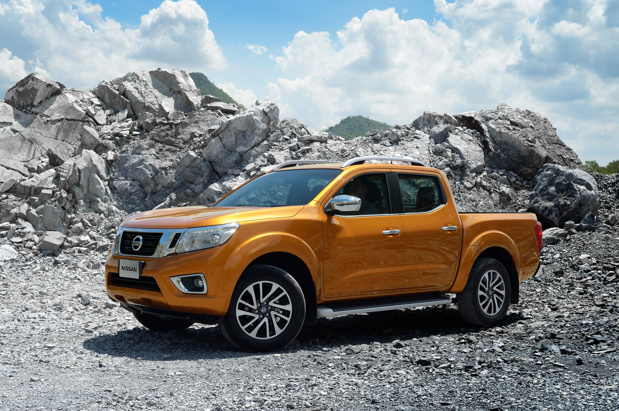 Nissan NP300 Navara Could Hint at Next Frontier Pickup