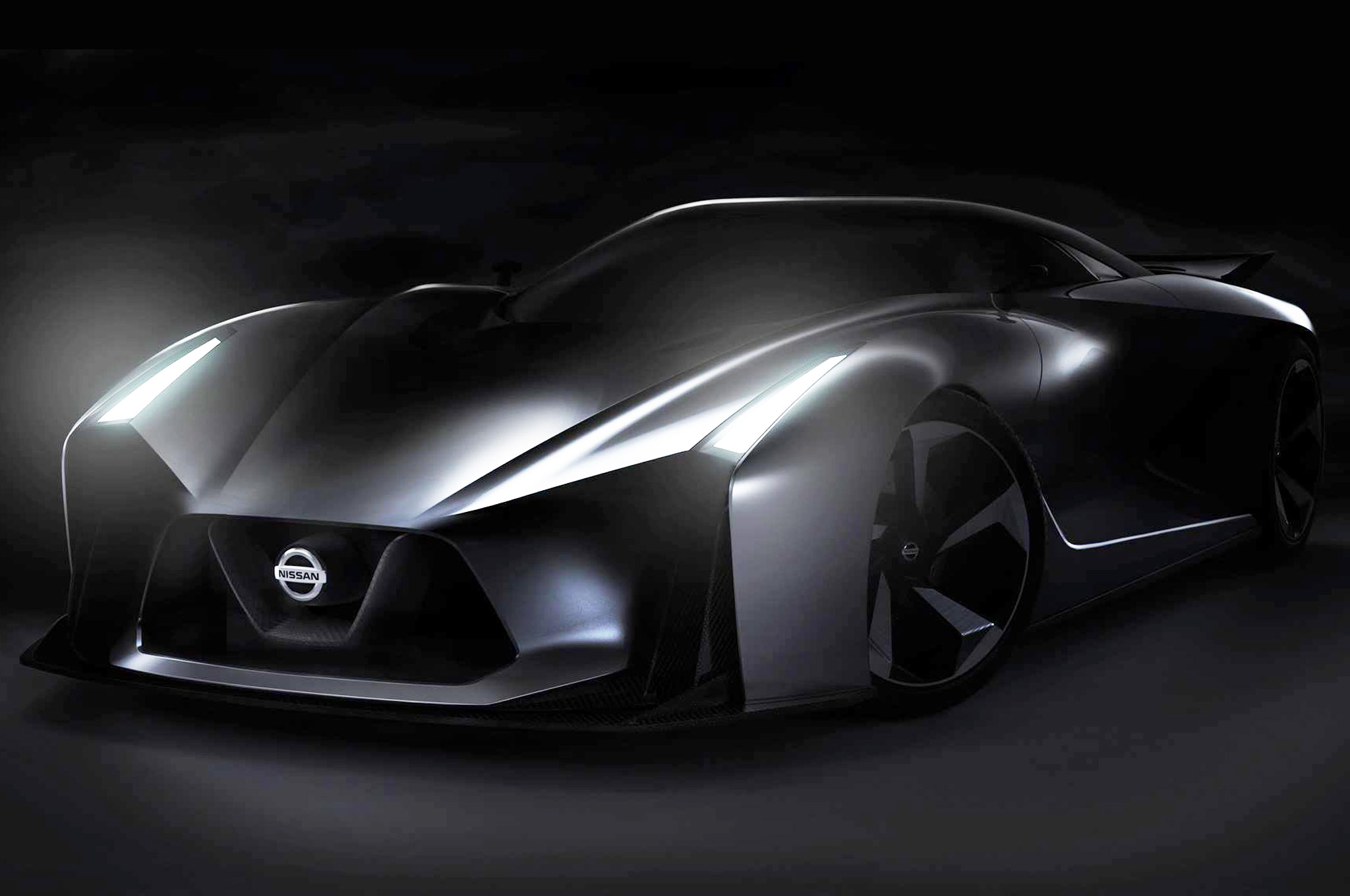 Lovely Nissan Takes Sheet Off New Concept Car, Likely For Gran Turismo