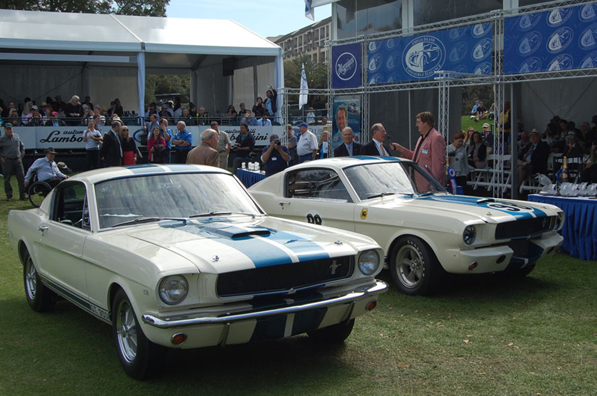 The tale of the original 1965 ford mustang shelby gt350 prototypes