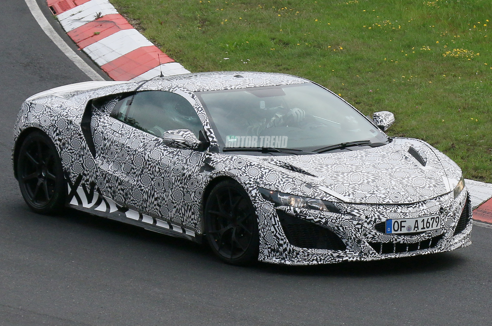 Spied! Acura NSX Prototype Keeps Concept-Car Looks, Bombs the 'Ring