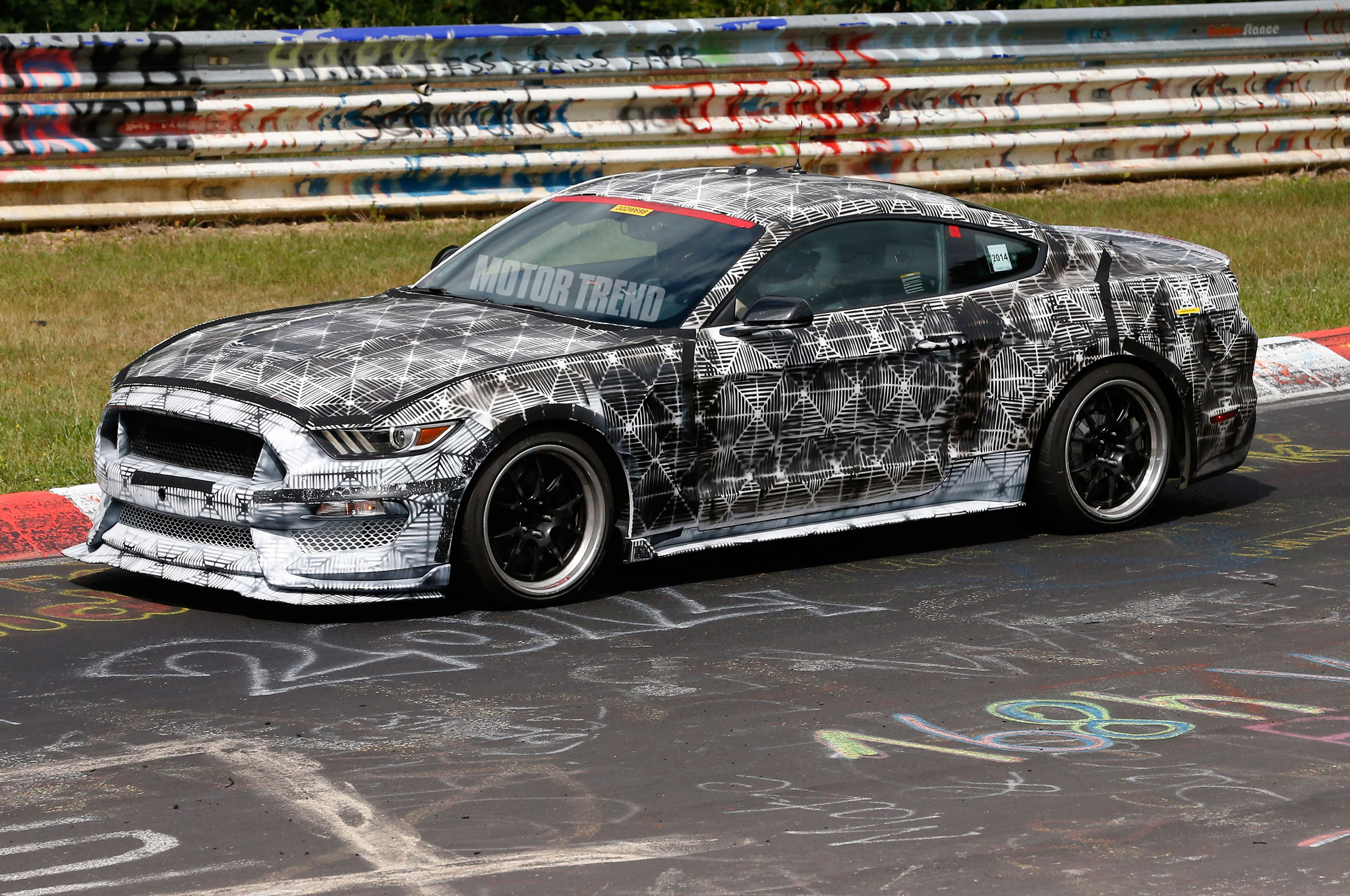 2017 ford mustang svt caught attacking the nurburgring