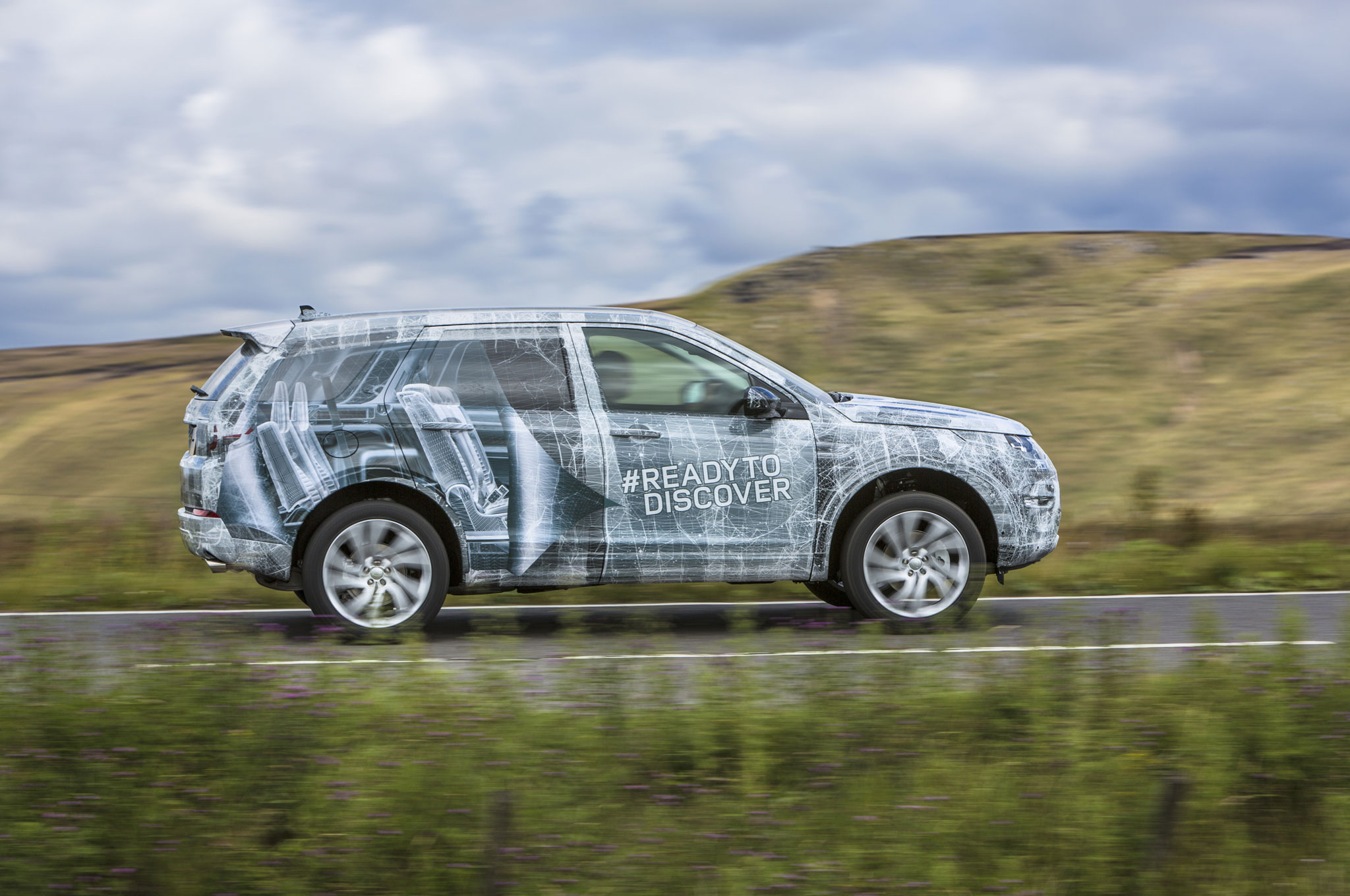 Land Rover Discovery Sport Teased, Will Get Standard Third Row