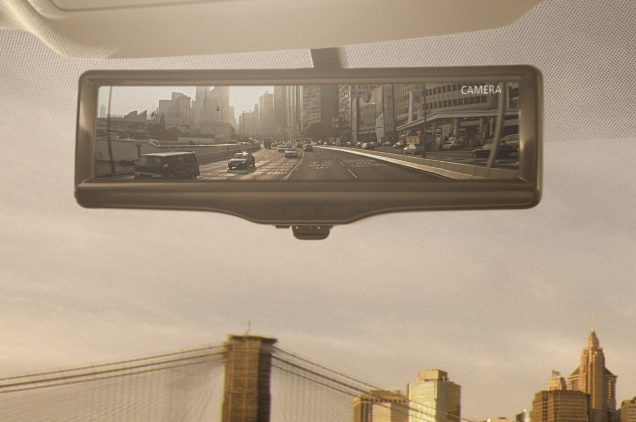 Nissan's Nifty Smart Rearview Mirror Coming to America