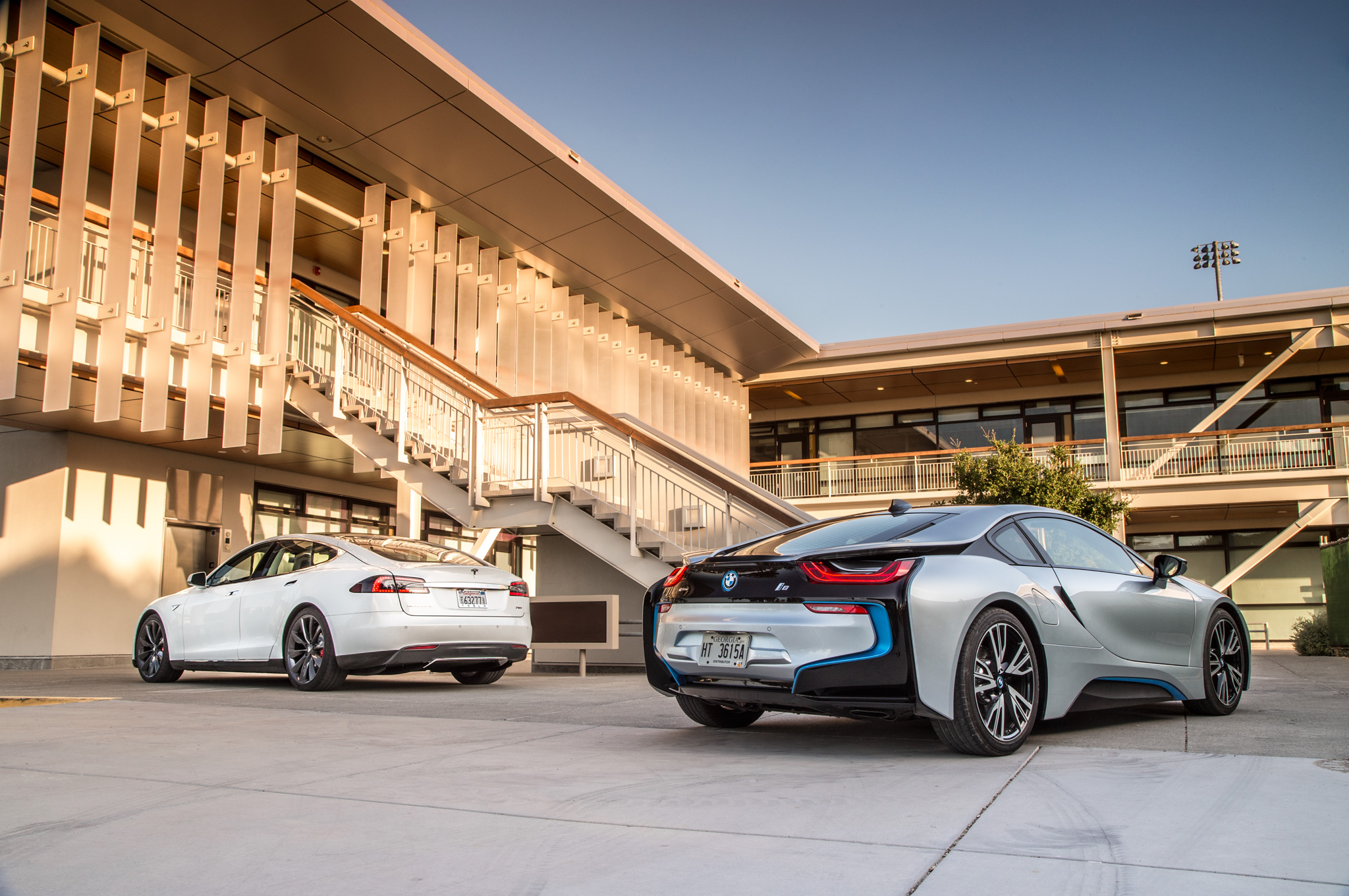 Totd You Choose Tesla Model S Or Bmw I8 Motor Trend