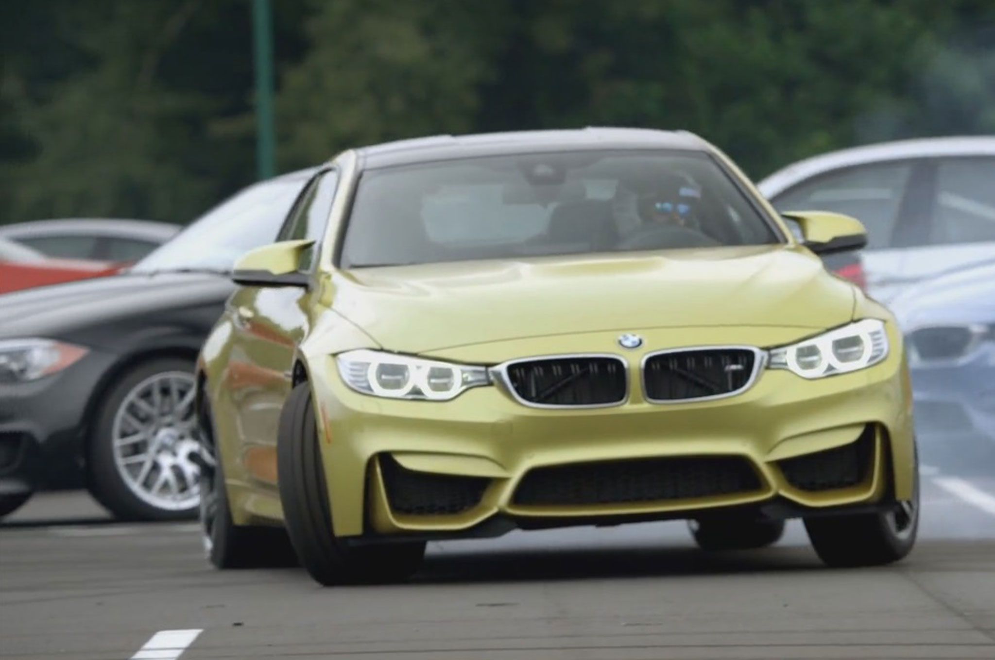 Watch the 2015 BMW M4 Earn Its Way into the M Family Motor Trend