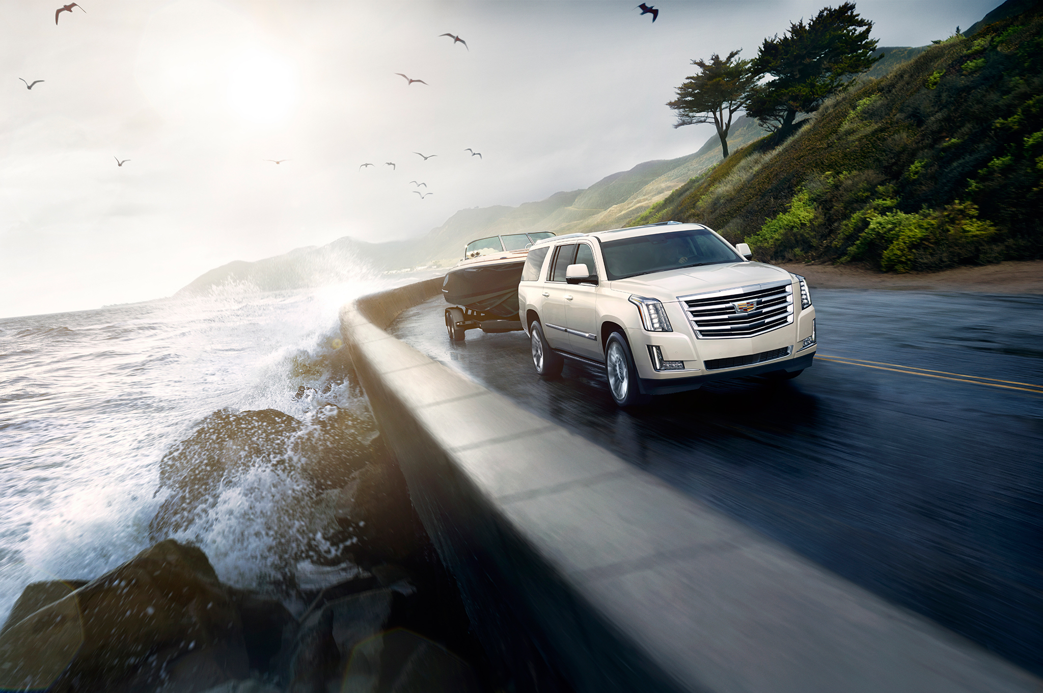 2015 Cadillac Escalade Goes Platinum, Adds More Luxury