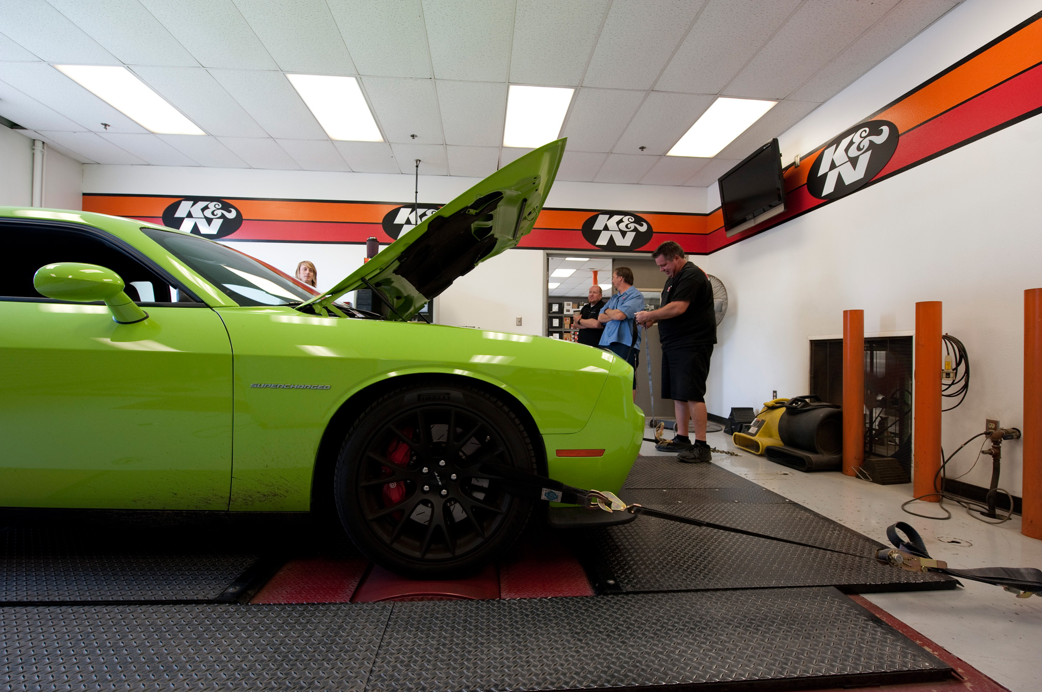Dyno Mighty Challenger Srt Hellcat Camaro Zl1 Hit The Rollers