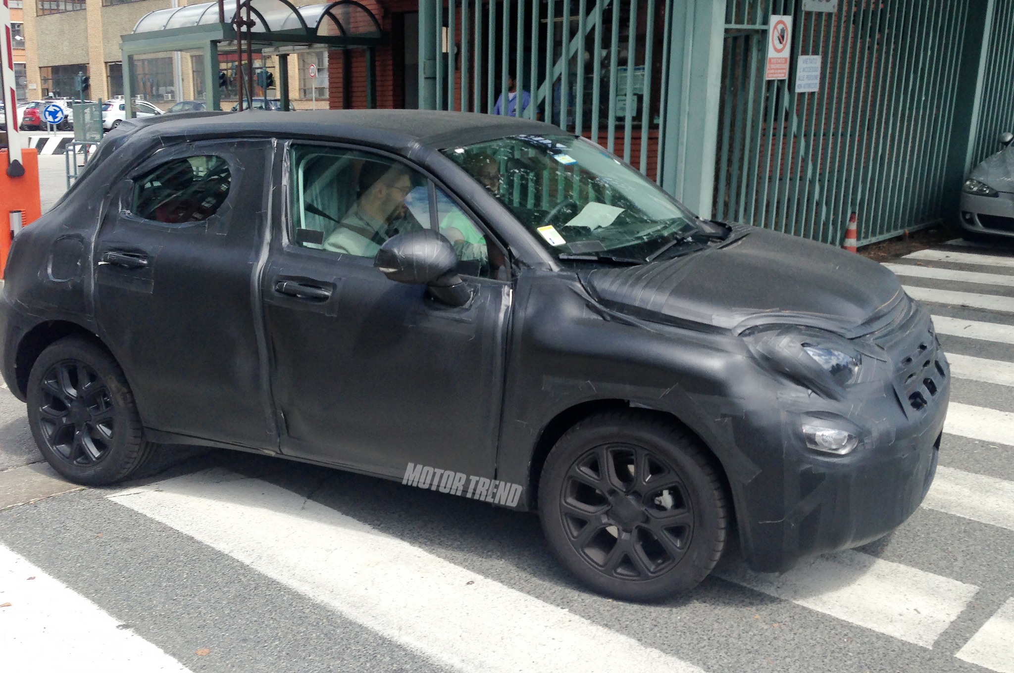 Spied Fiat 500X Crossover Prototype Spotted in Italy Motor Trend