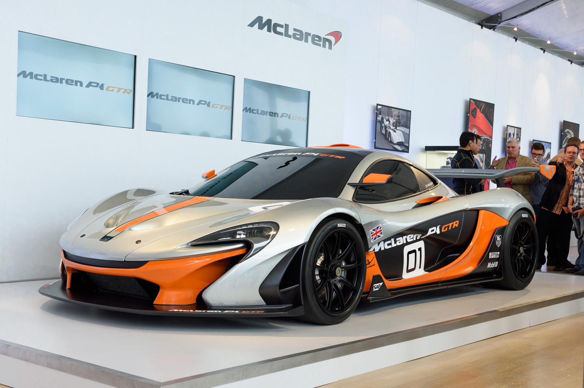 437d1f455cb307 986-HP McLaren P1 GTR Concept Revealed at Pebble Beach - MotorTrend