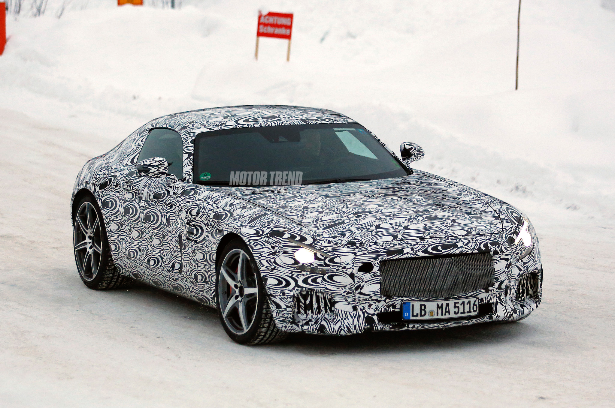 Mercedes-AMG GT Reveal Date is Set, Coupe Will Make 462-510 HP