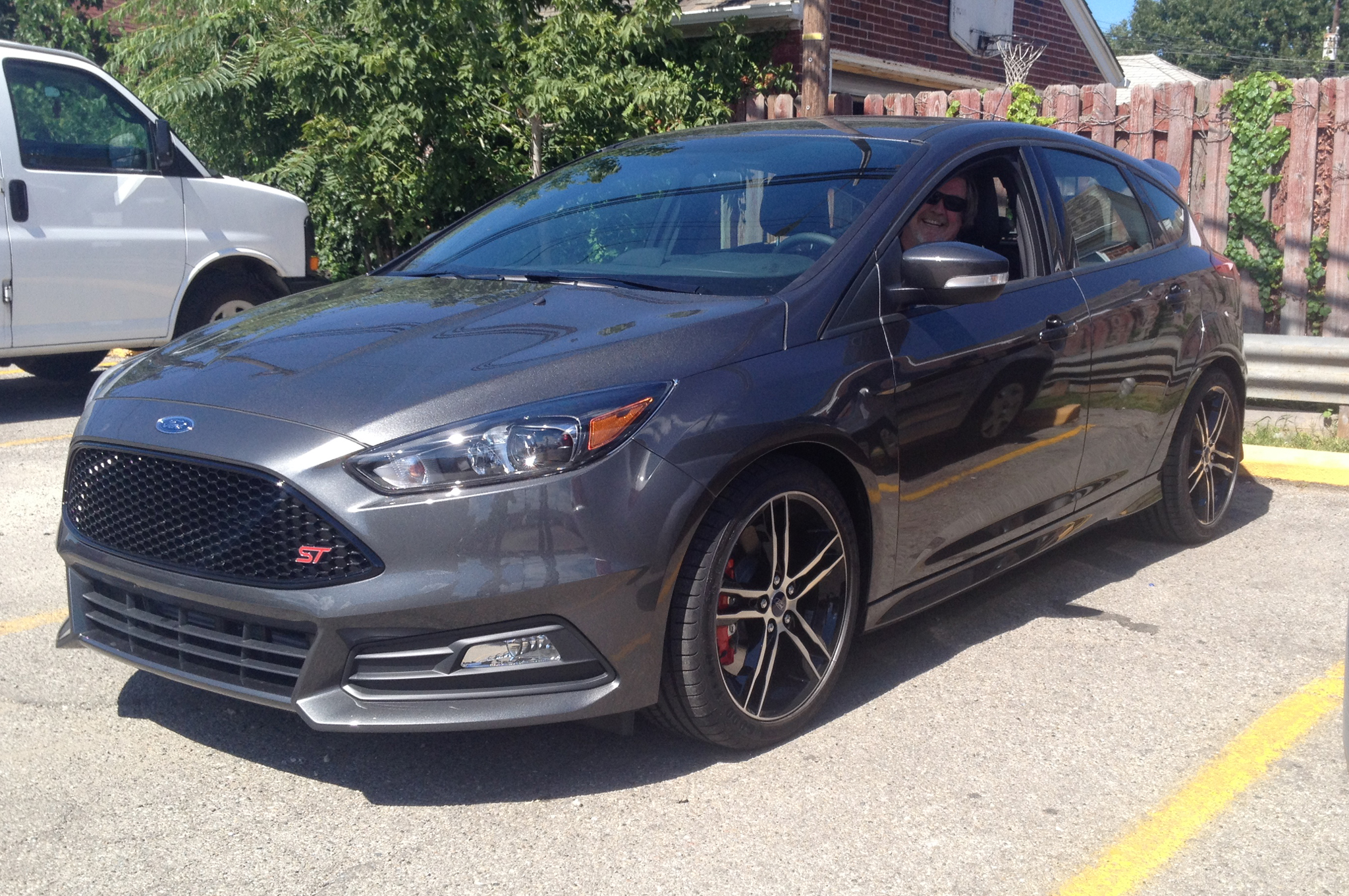 2015 Ford Focus ST First Sit