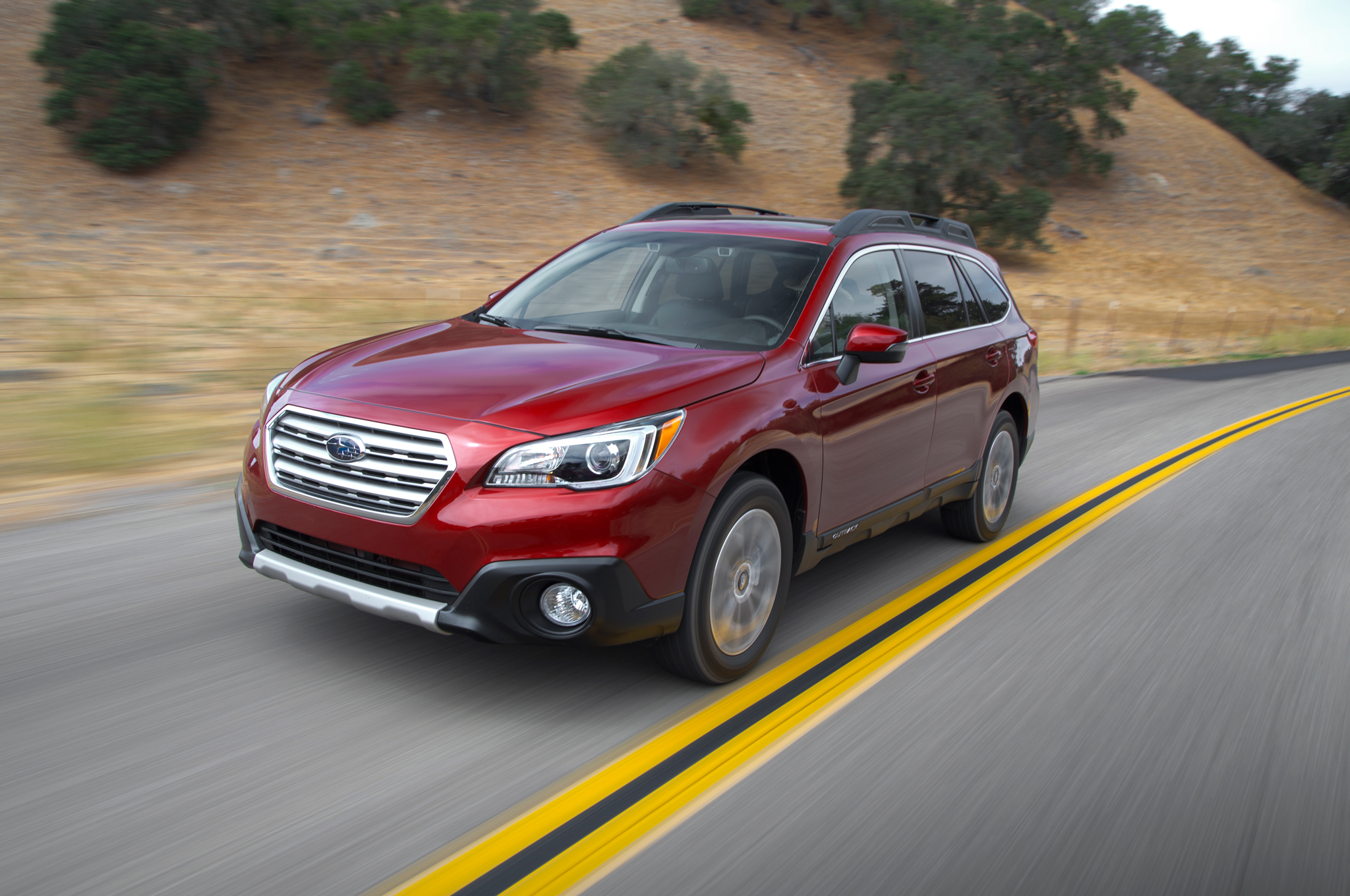 2015 Subaru Outback 3 6r First Test Motortrend