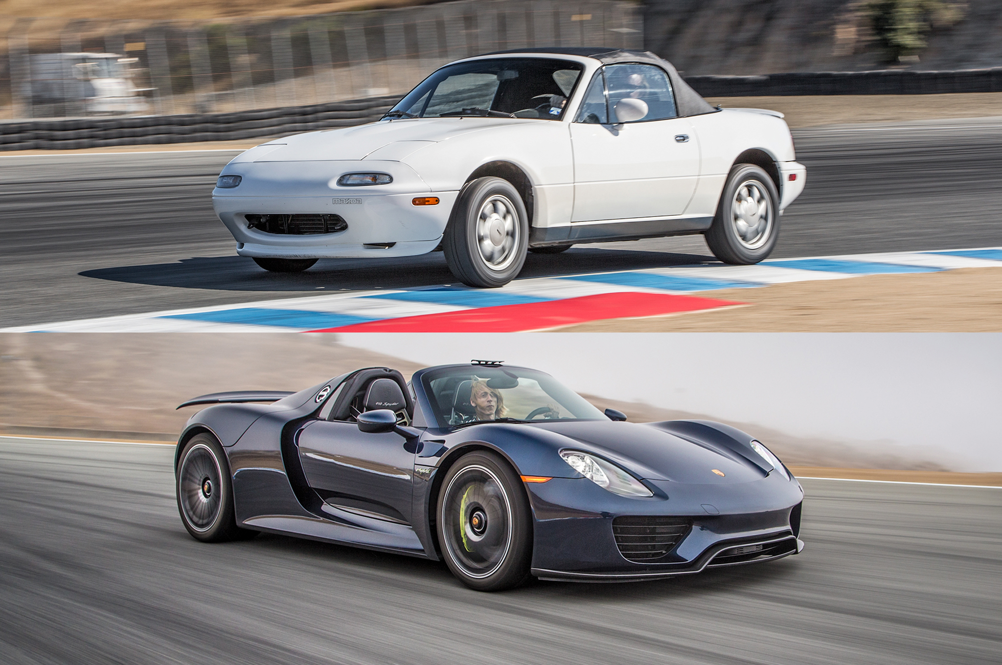 2014 Best Driver\'s Car Bonus: First-Gen Mazda MX-5 Miata, Porsche ...