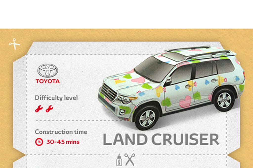 Bored? Build Your Own Papercraft Toyota With These Printable Kits