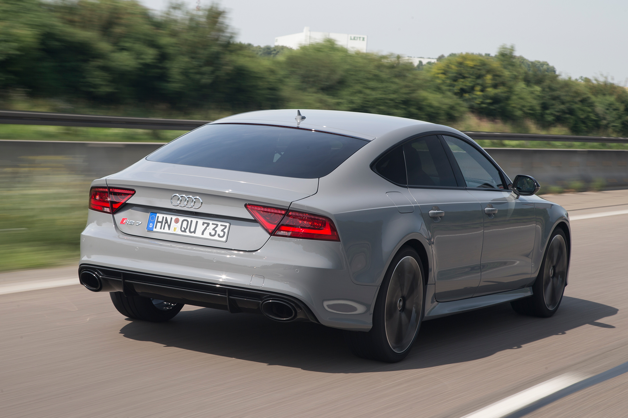 Driverless Audi RS 7 Can Lap Hockenheimring Track as Fast as Humans