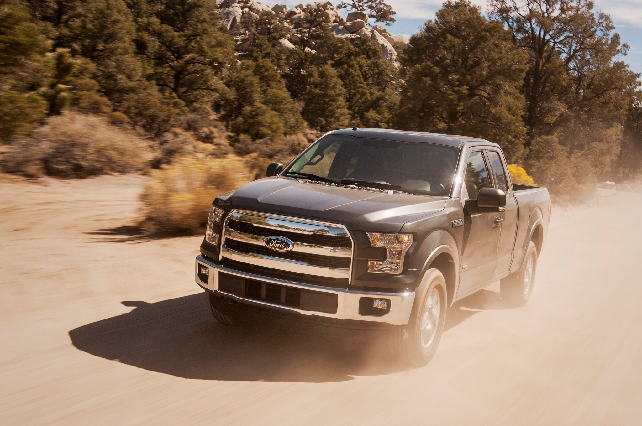 Ford F L Ecoboost Achieves   Mpg In Mt Tests