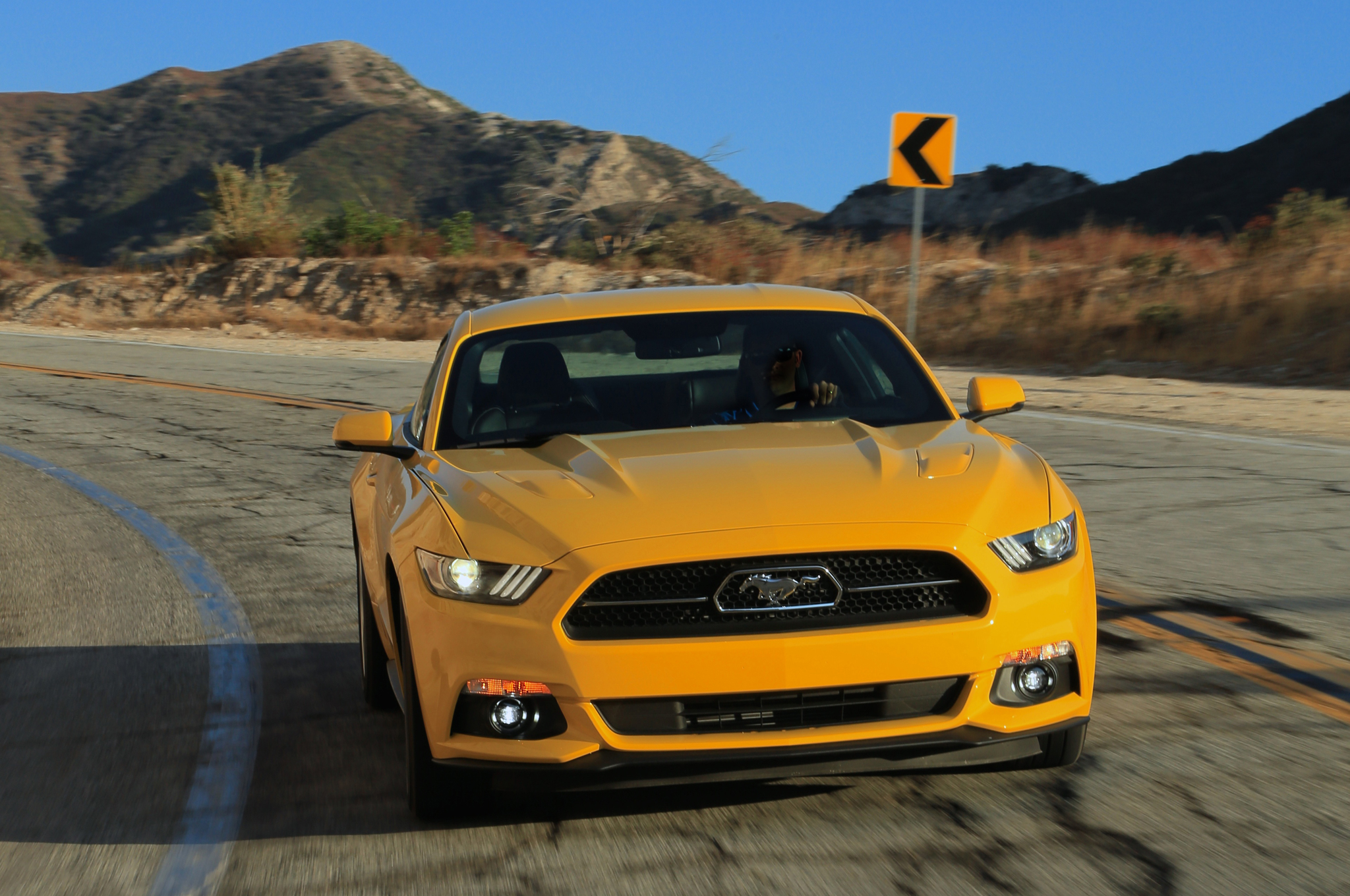 Finally, The Thoroughbred Charger: 2015 Ford Mustang Hits Dealers