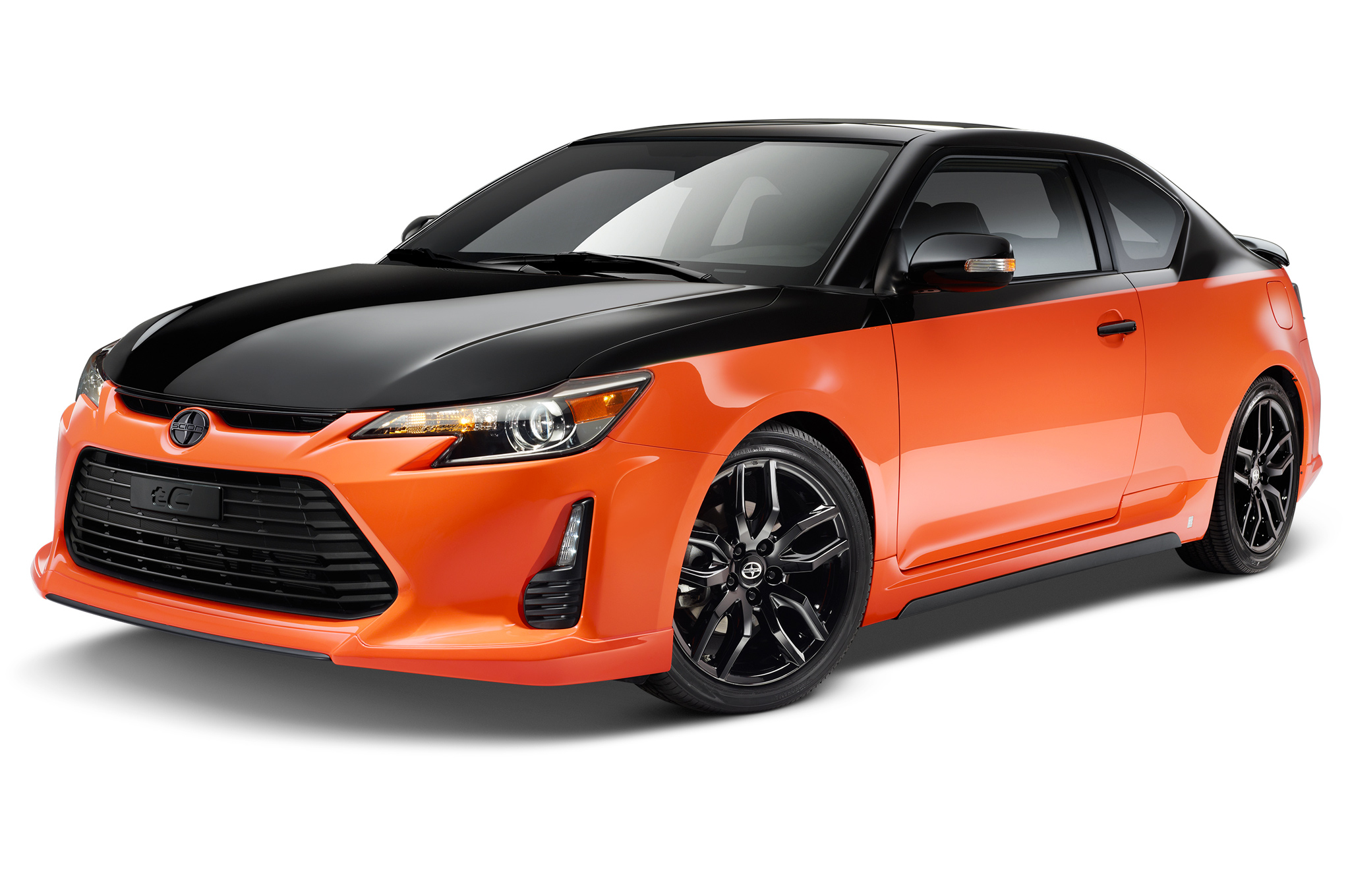 2015 Scion tC Release Series 9.0 Revealed in Orange and Black ...