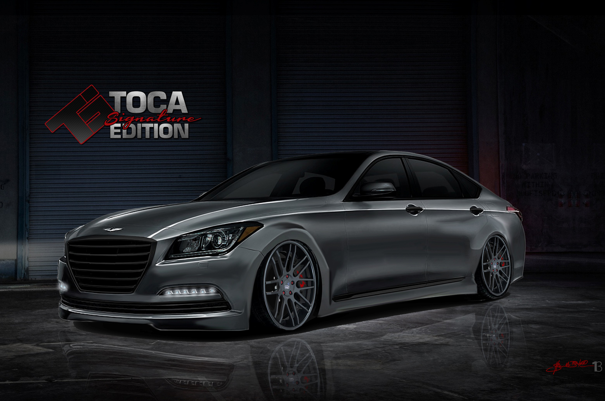 Toca Tuned 2015 Hyundai Genesis Sedan Makes 600 HP For SEMA