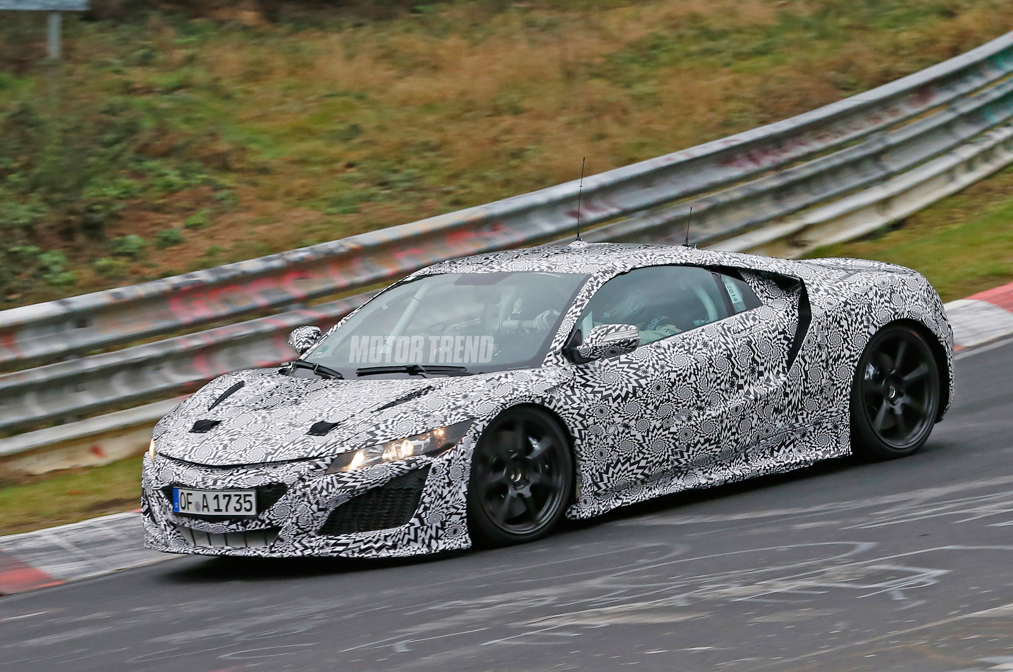 Acura NSX Prototype Spied Again at the 'Ring