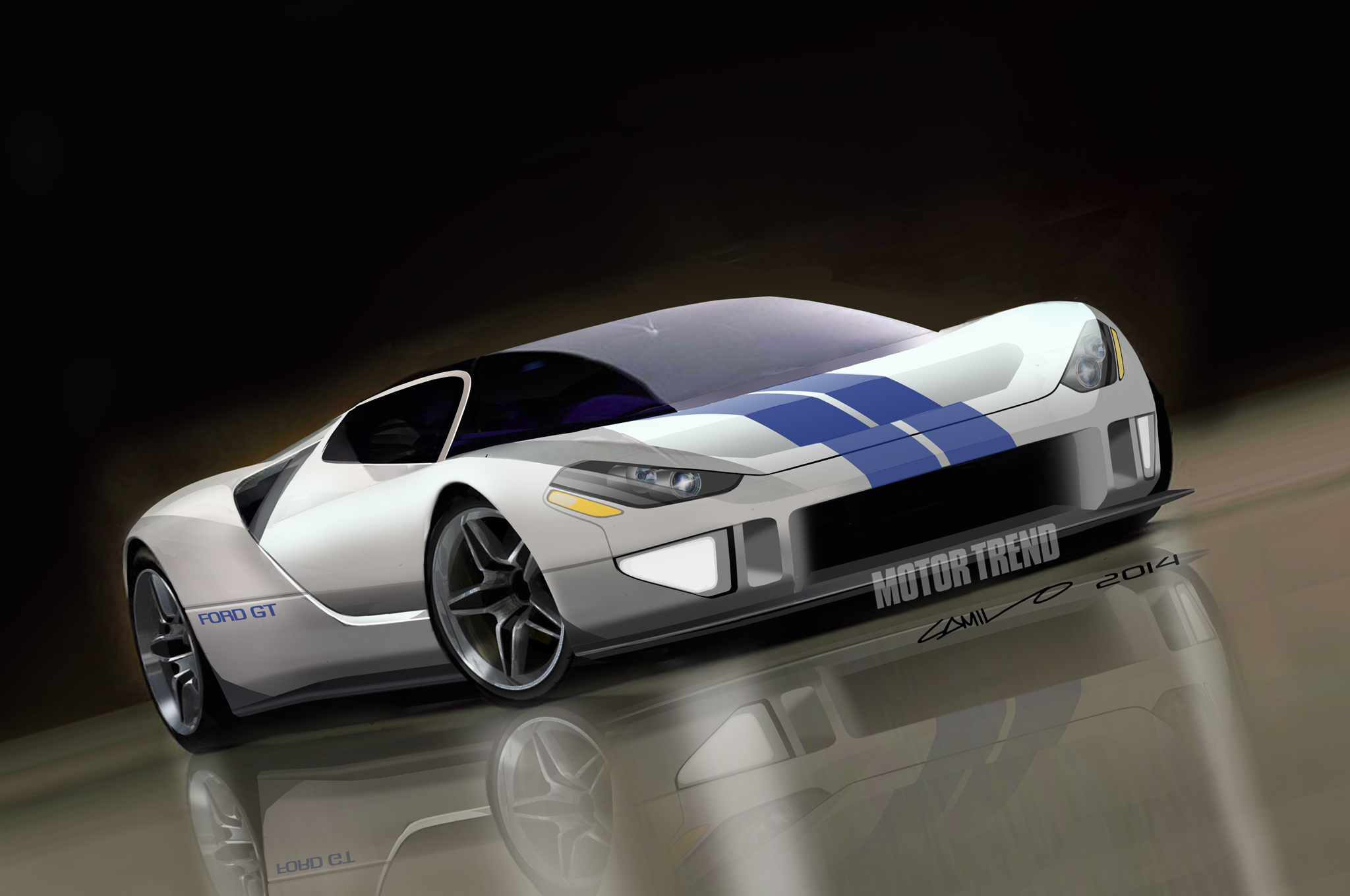 Future Ford GT First Look - Motor Trend