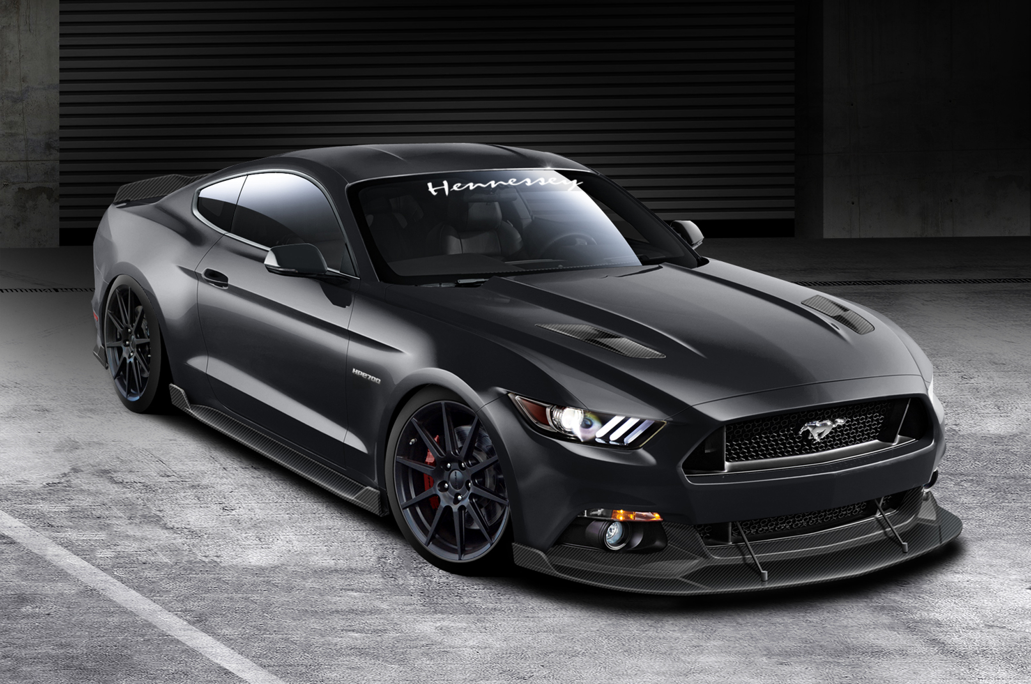Hennessey 2015 Ford Mustang HPE700 Makes 717 HP