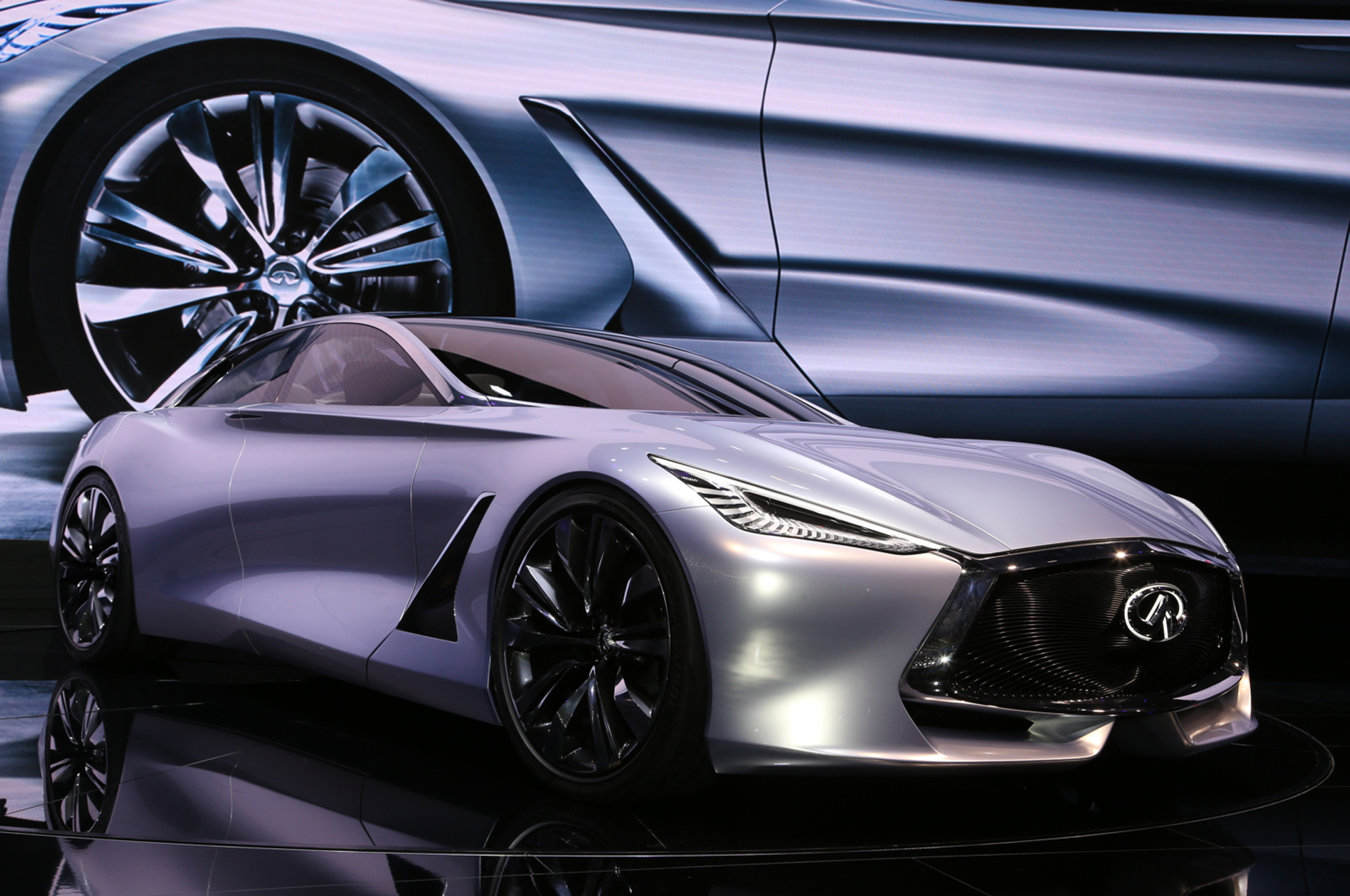 Infiniti Q80 Inspiration Concept First Look - Motor Trend