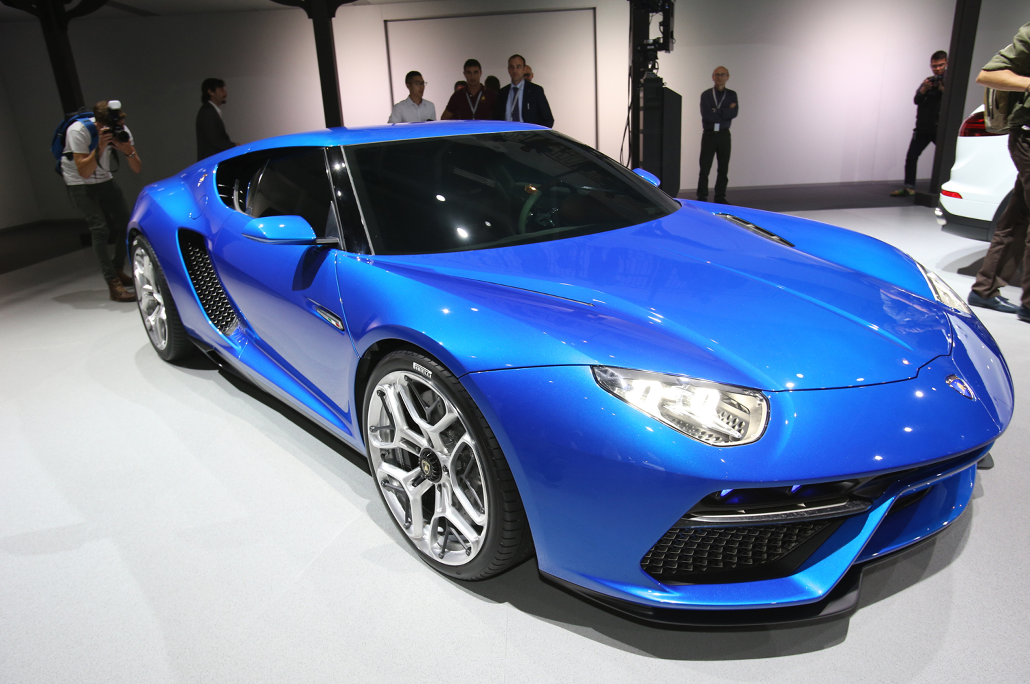 Lamborghini Asterion Concept First Look Motor Trend