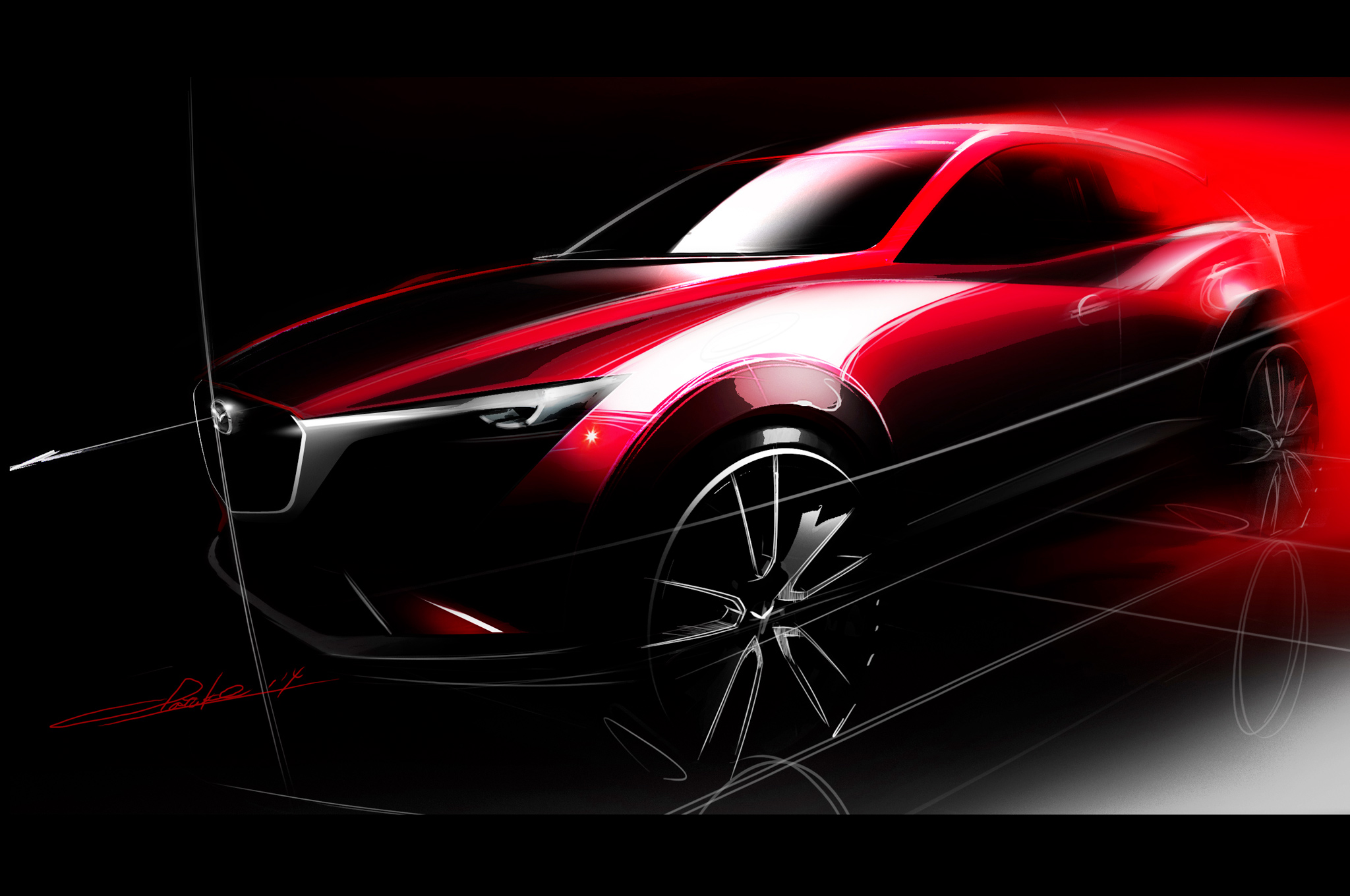 Mazda CX-3 Subcompact CUV Confirmed for Los Angeles